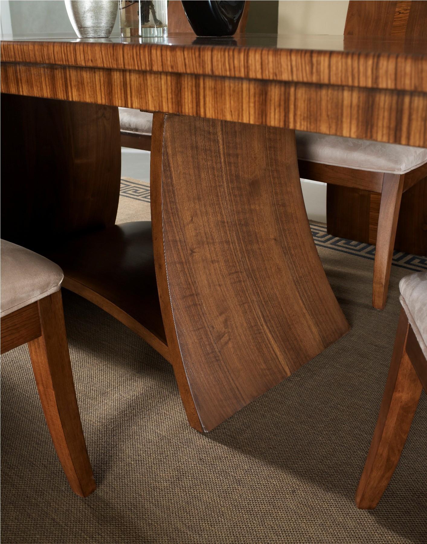milan rectangular pedestal dining table from somerton dwelling 153 62 b t coleman furniture. Black Bedroom Furniture Sets. Home Design Ideas
