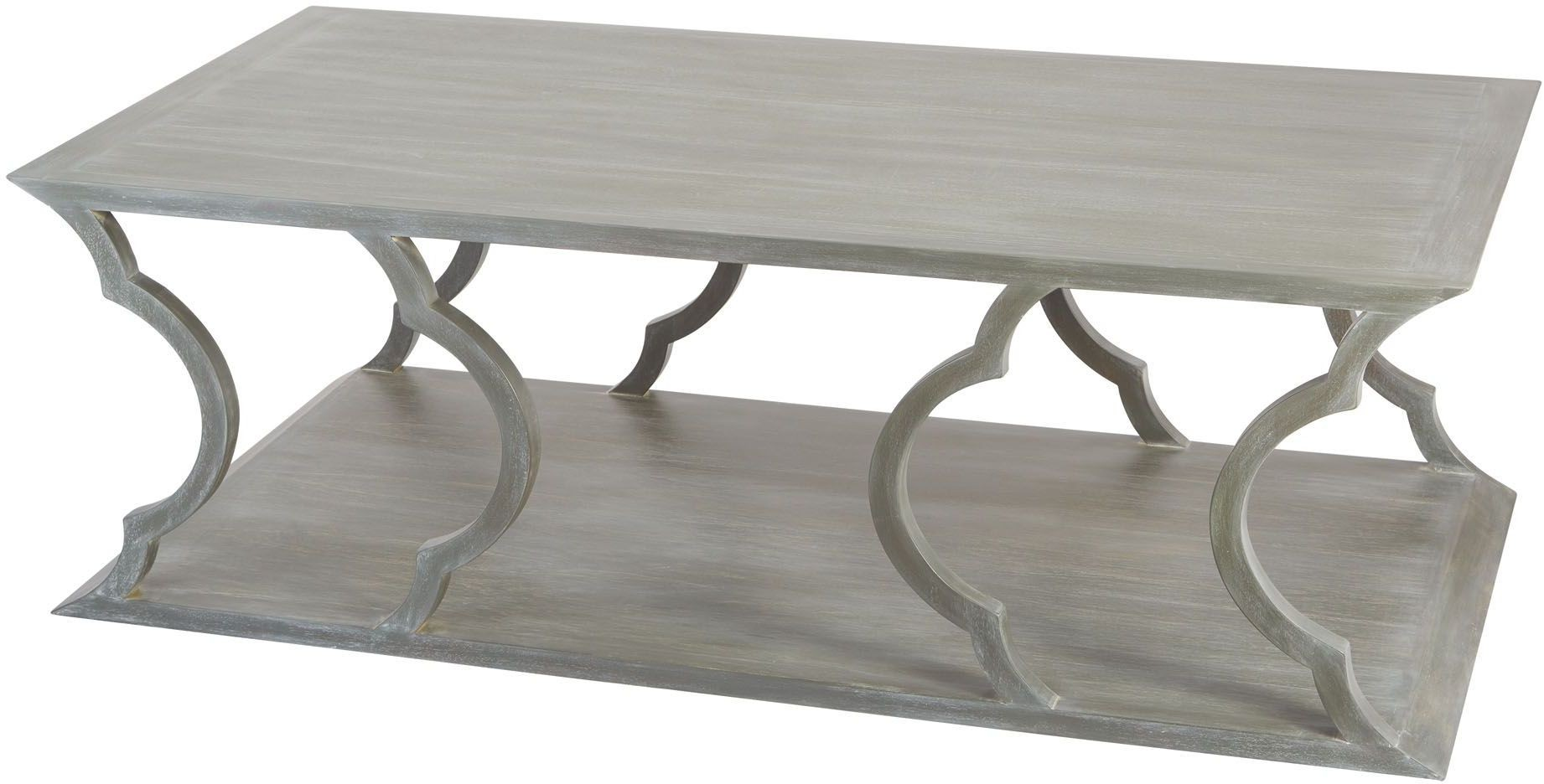 Mahogany Cloud Grey Wood Coffee Table 158 002 Dimond Home