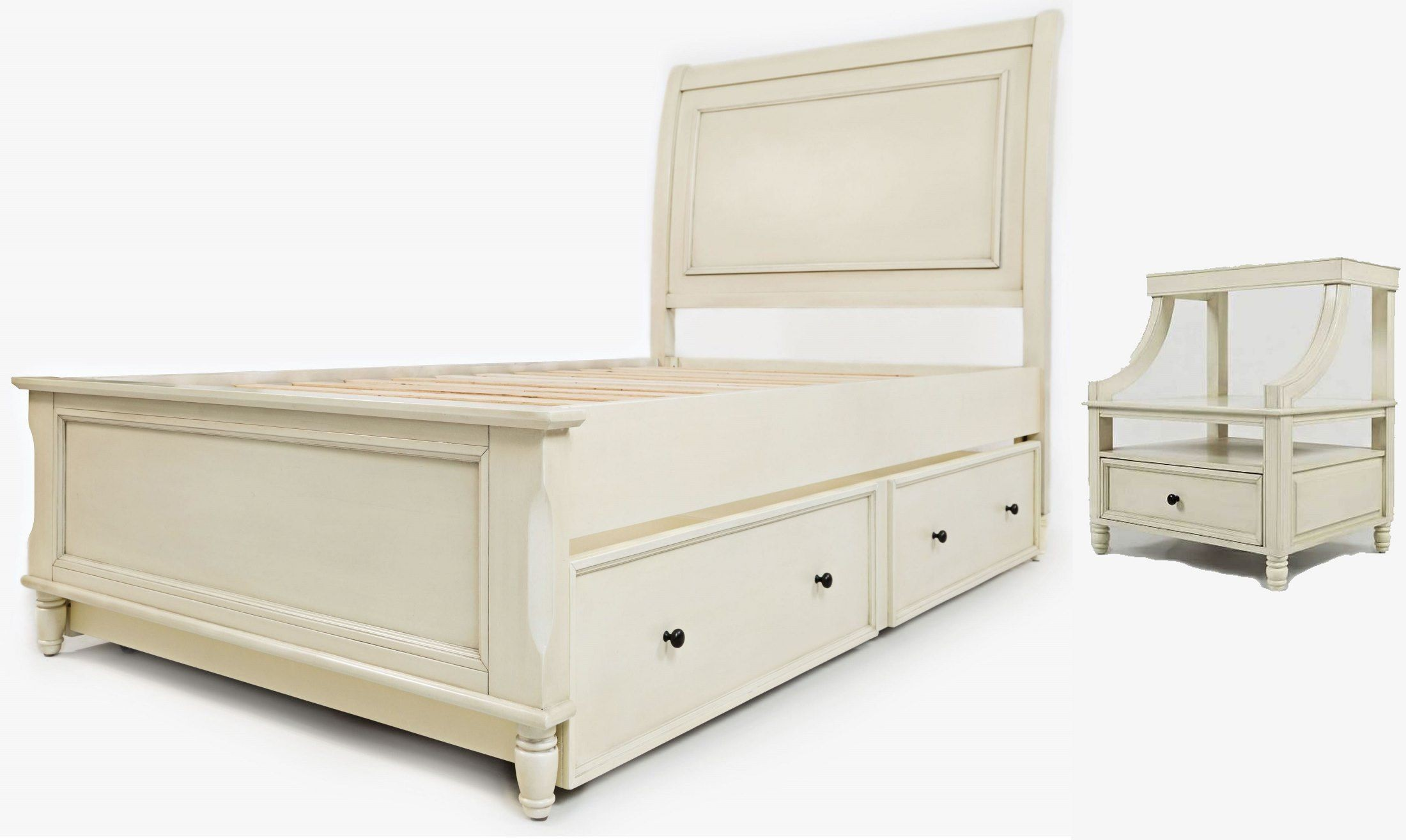 avignon ivory youth trundle panel bedroom set 1617