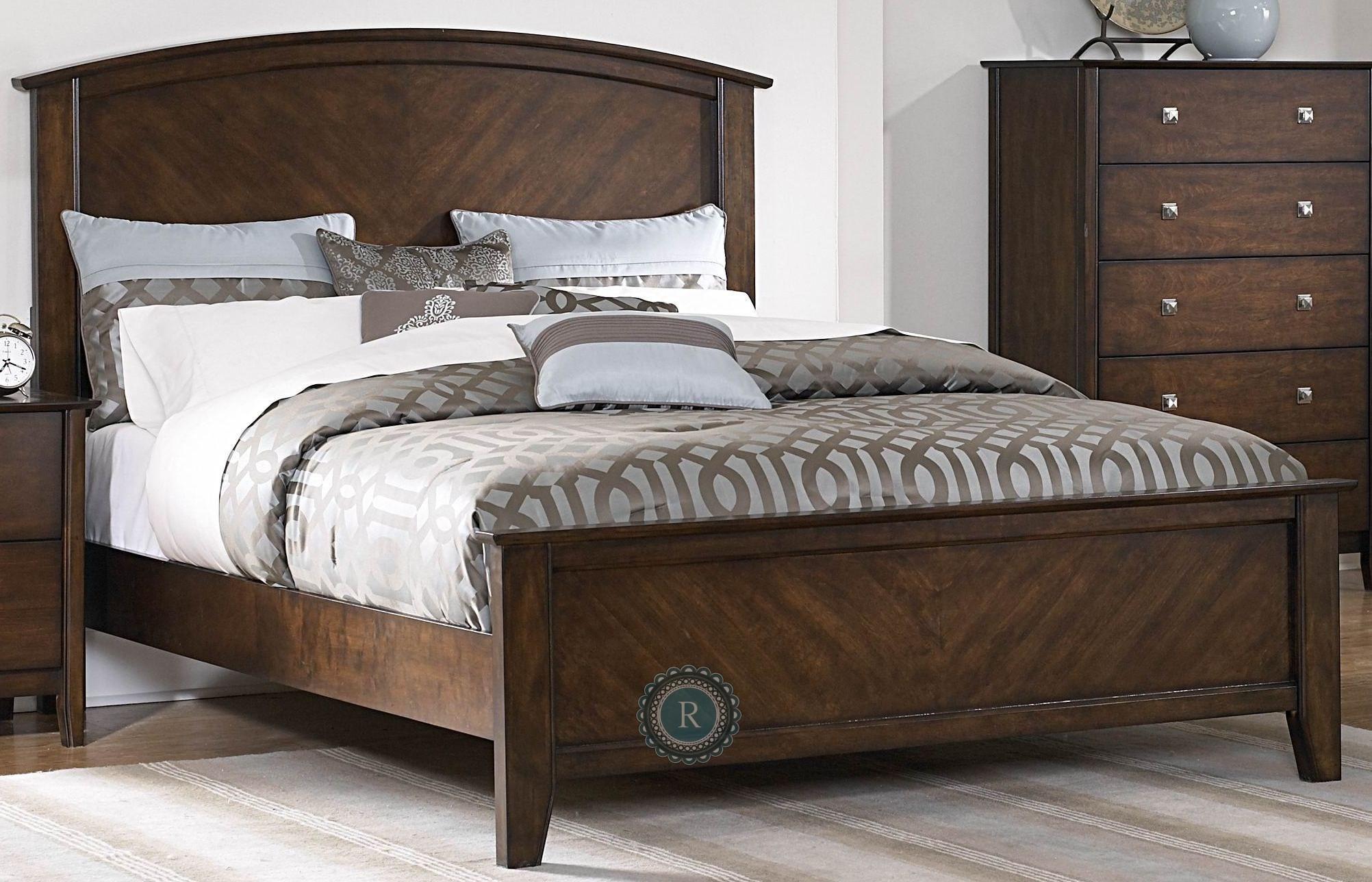 Cody Cal King Panel Bed From Homelegance 1732k 1ck