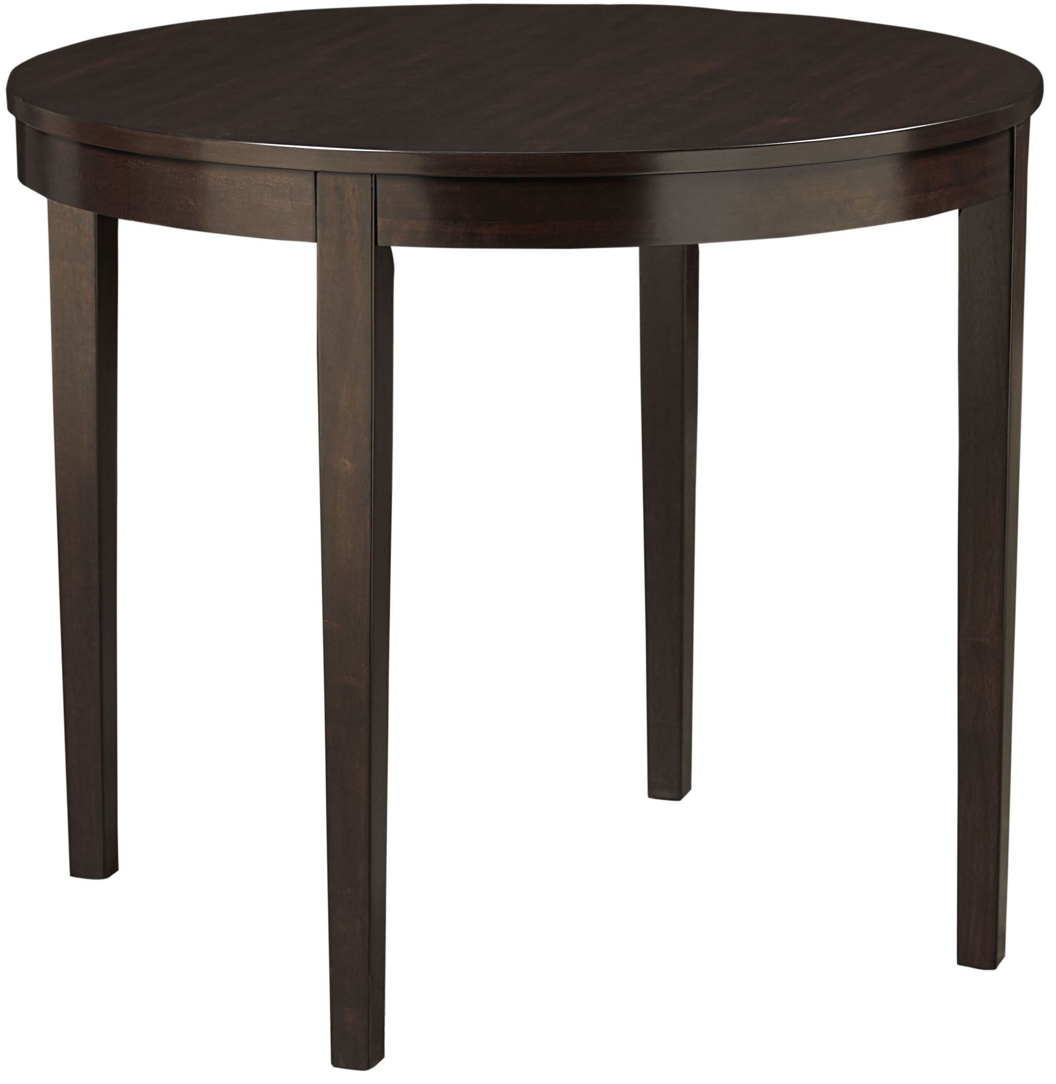 noveau dark merlot counter height round dining table 17576 standard furniture. Black Bedroom Furniture Sets. Home Design Ideas