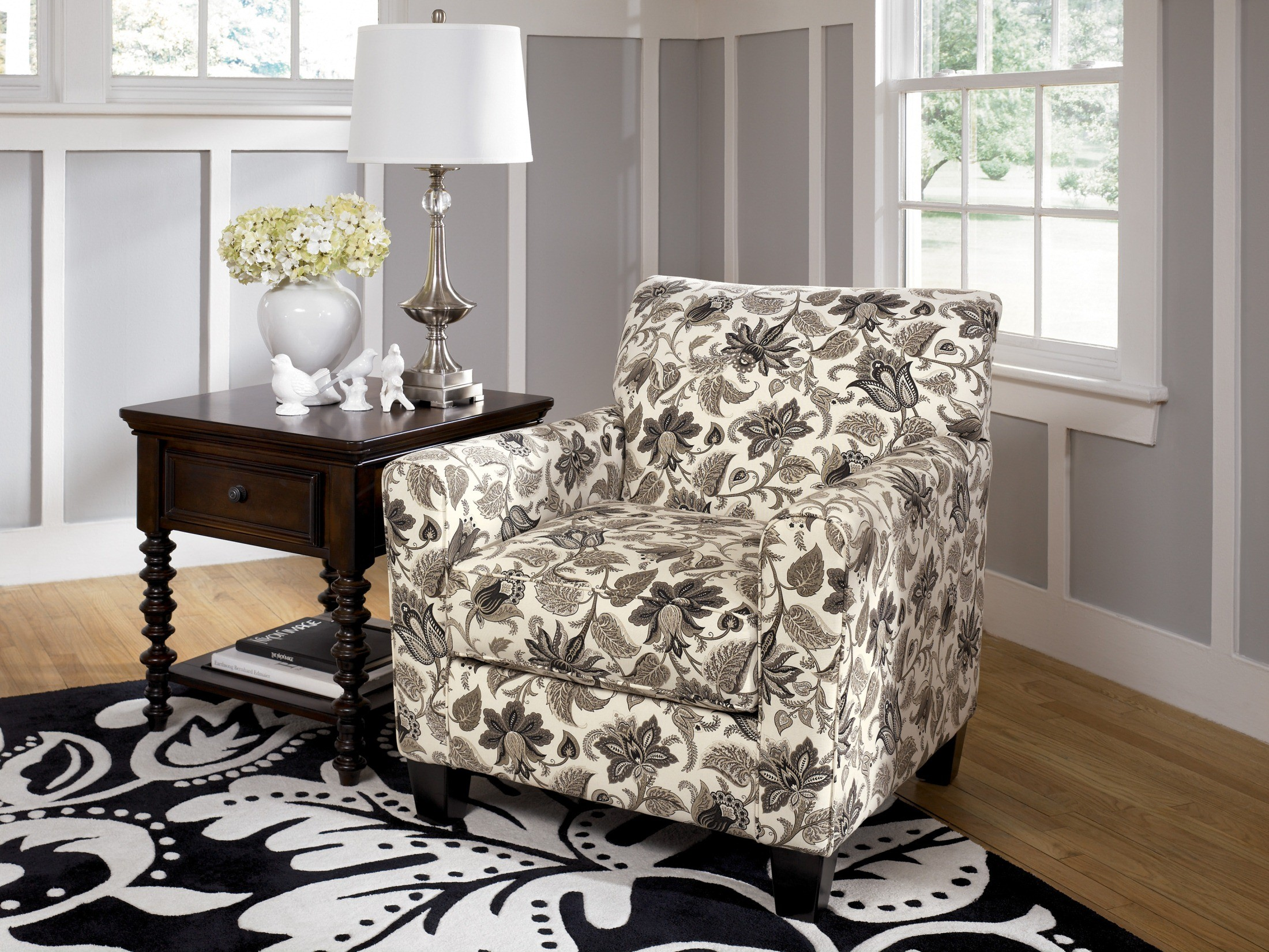 caroline sepia accent chair 1770021 living room chairs
