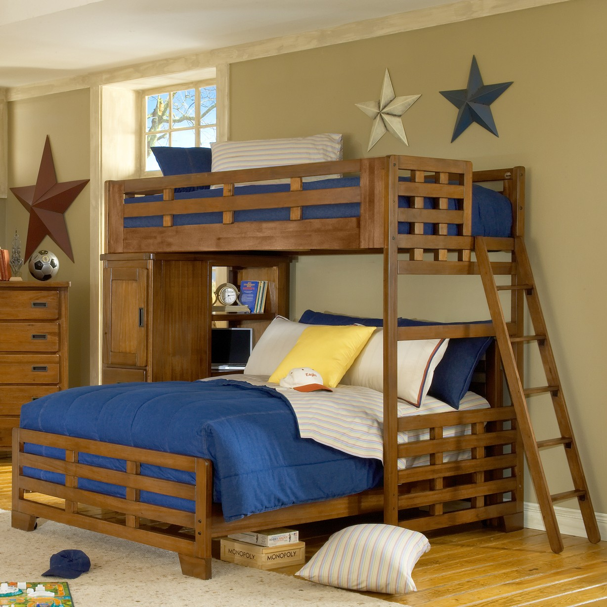 Heartland loft bedroom set from american woodcrafters for 1800 beds