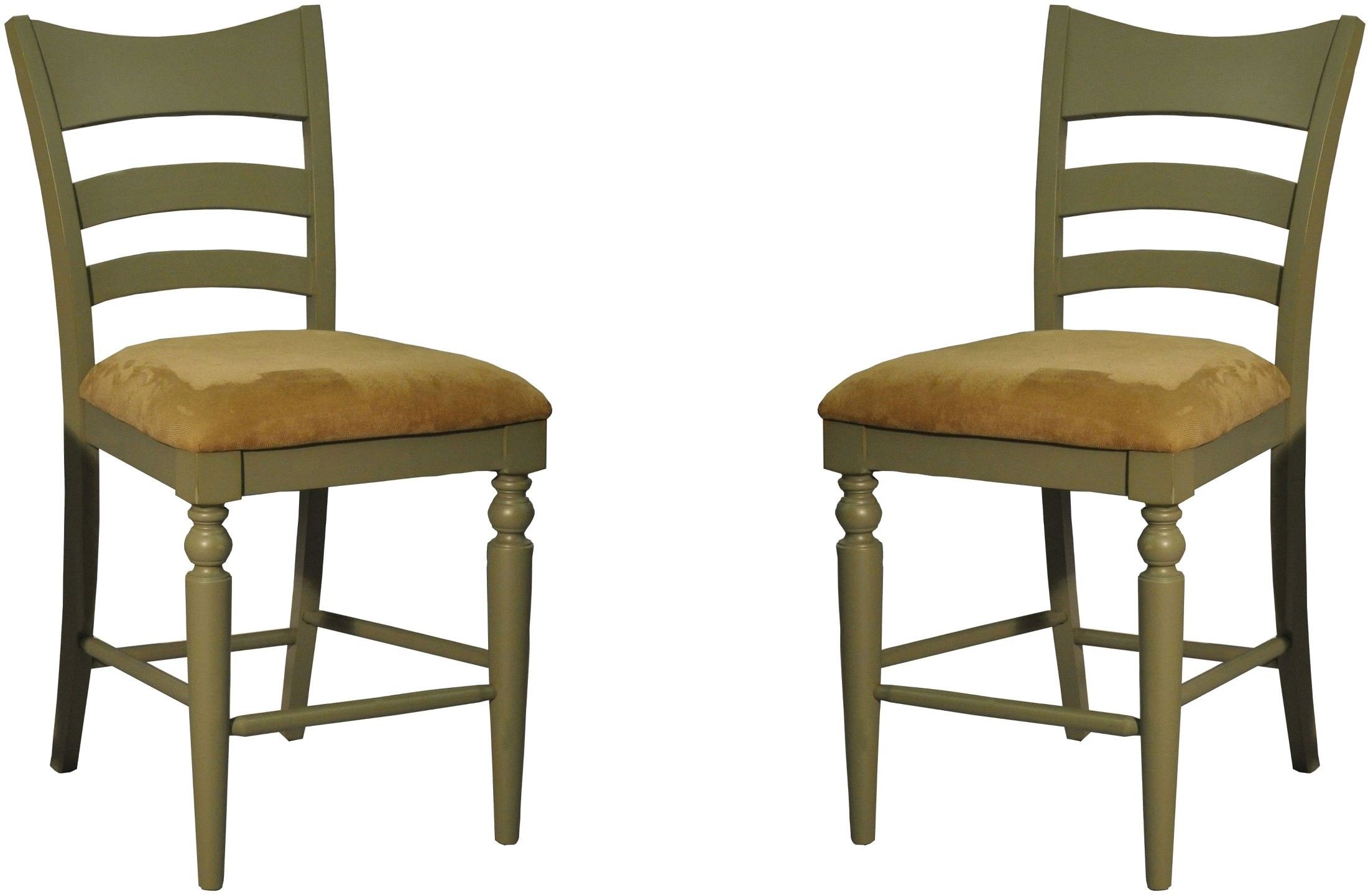 Green Counter Stool Set of 2 1866 12 BS ECI Furniture
