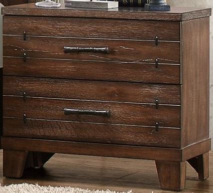 Brazoria Natural Wood Platform Storage Bedroom Set From Homelegance 1877 1