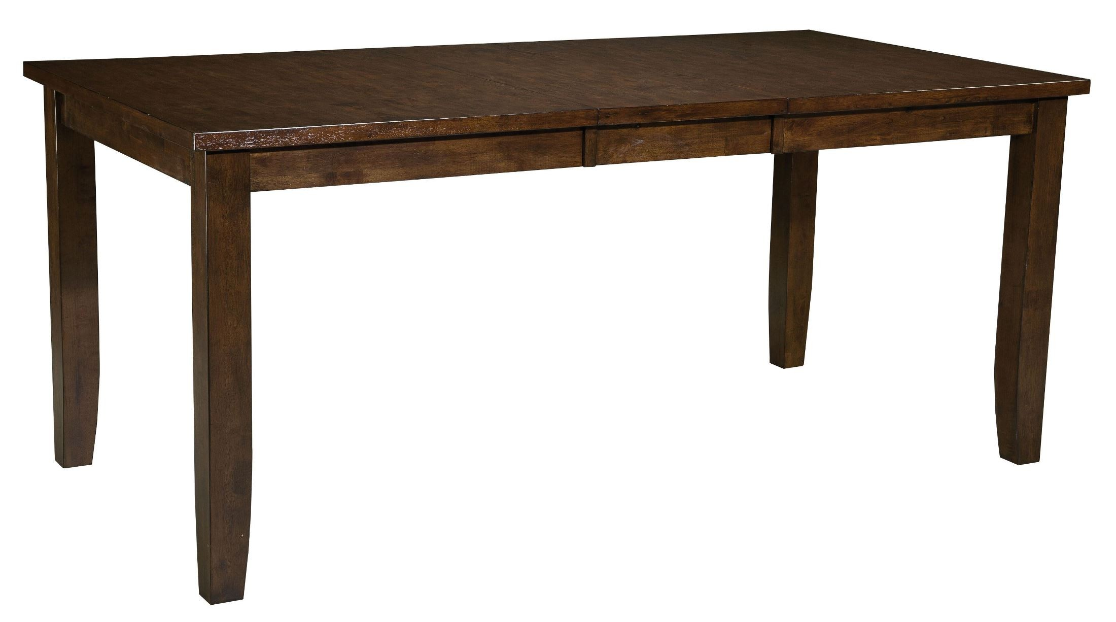 Abaco warm dark tobacco square counter height extendable for Square counter height table