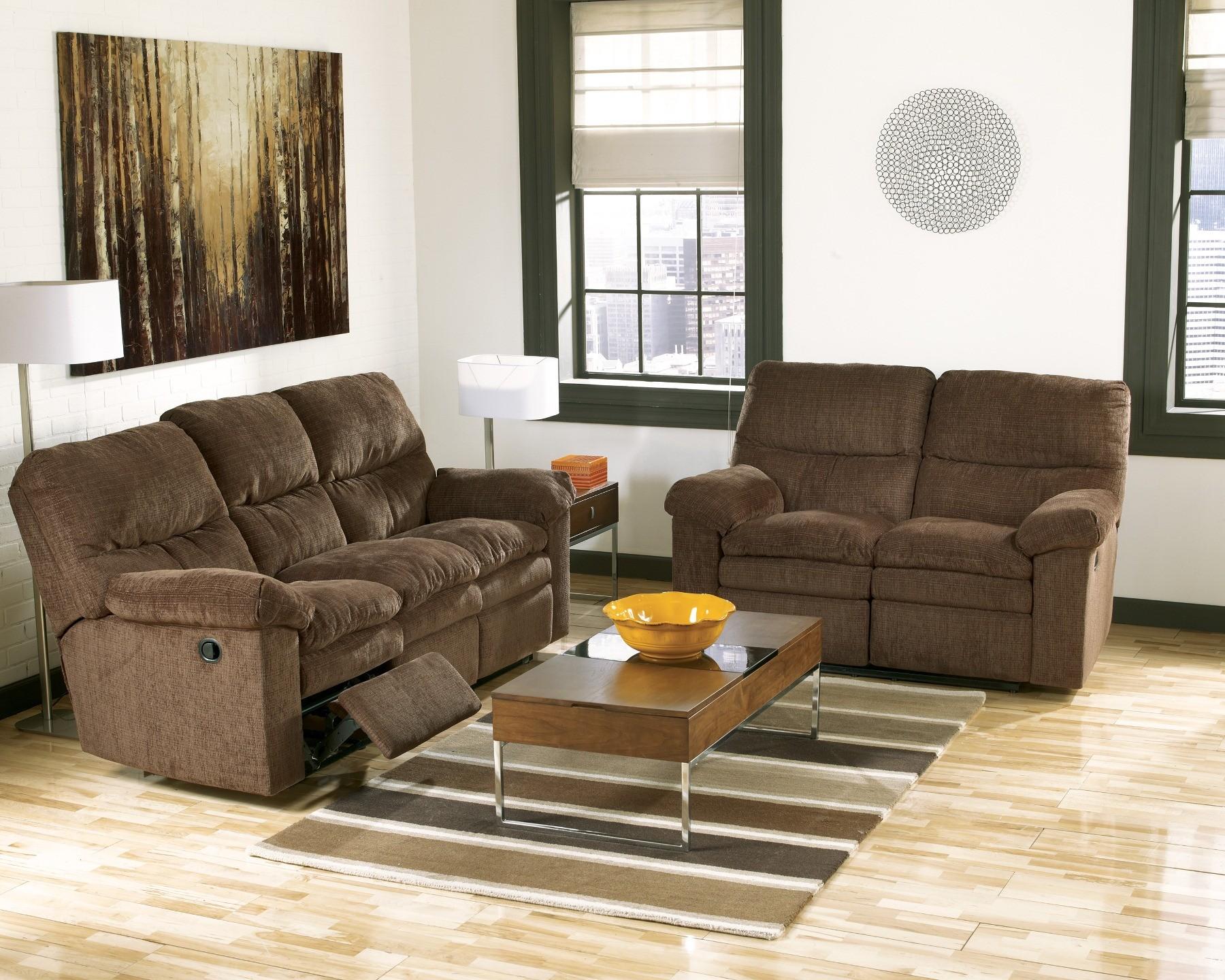 Laila Espresso Power Living Room Set 1900 Ashley Furniture