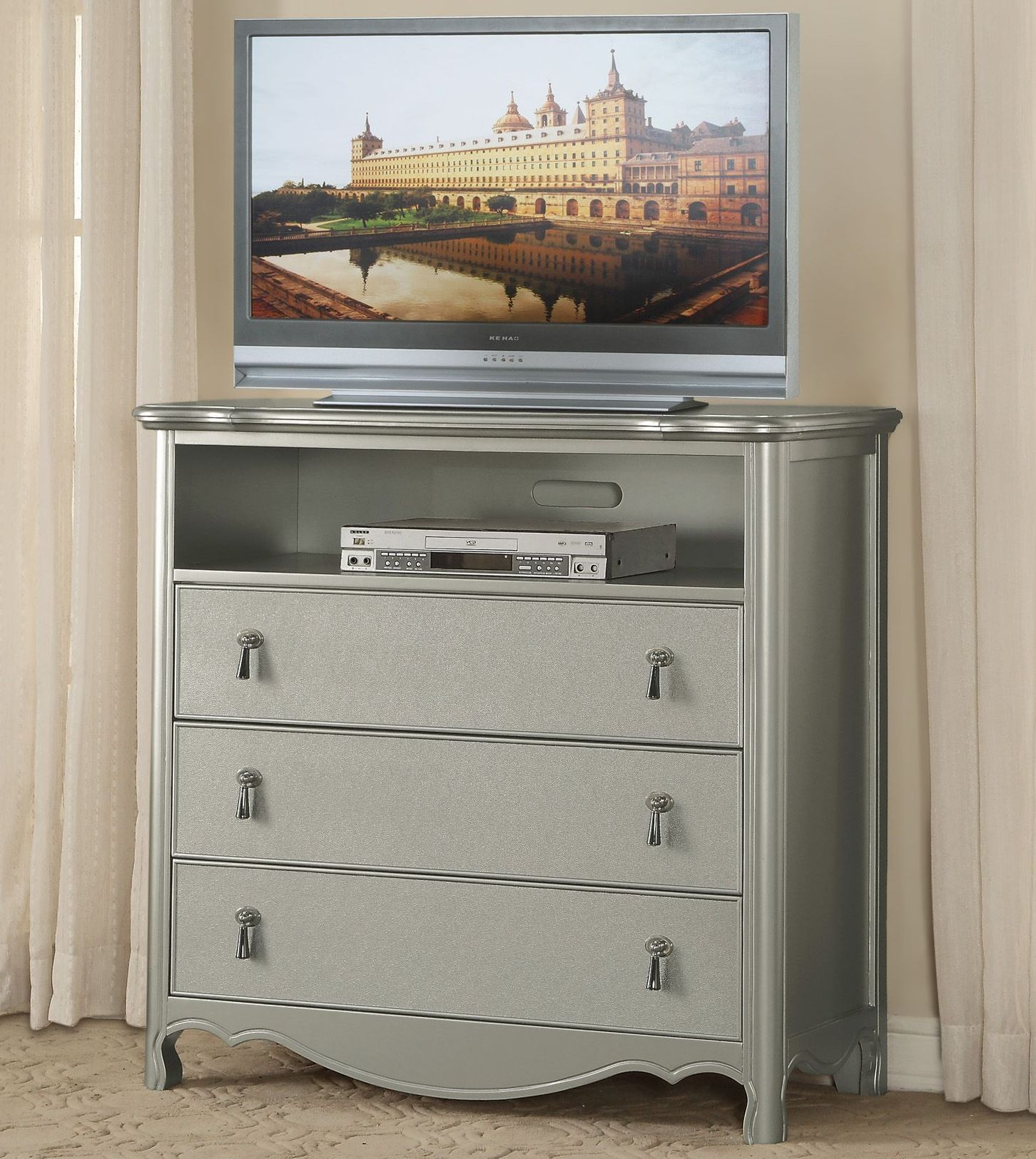 Toulouse Gray Upholstered Panel Bedroom Set 1901 1