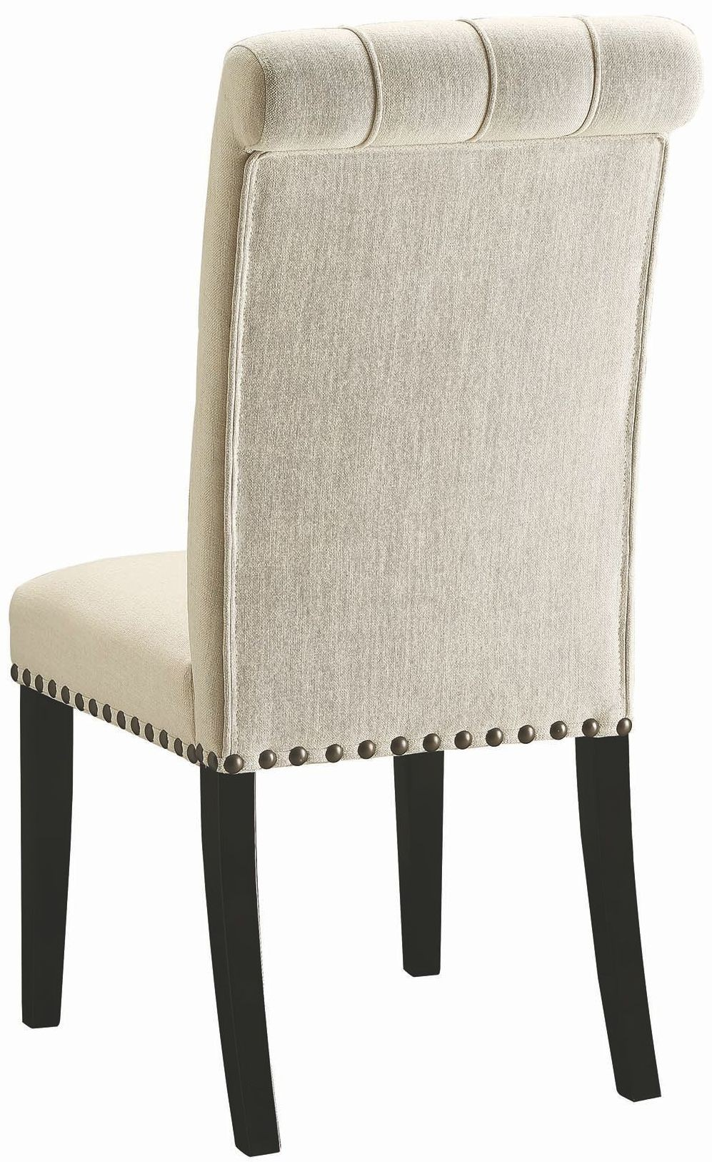 Parkins Cream Upholstered Side Chair Set Of 2 190162