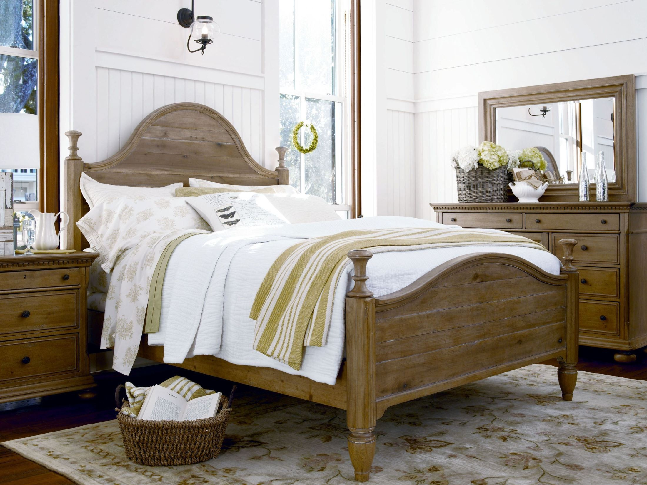 Down home oatmeal bedroom set from paula deen 192280b for Paula deen bedroom furniture