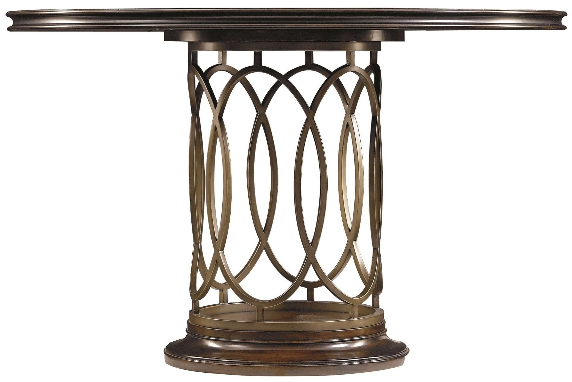 Avalon Heights Chelsea Neo Deco Pedestal Dining Room Set  : 1931130silo1 from colemanfurniture.com size 2200 x 1469 jpeg 276kB