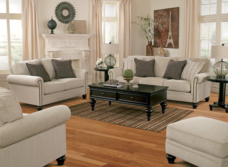 milari linen living room set from ashley 1300038 35 coleman furniture
