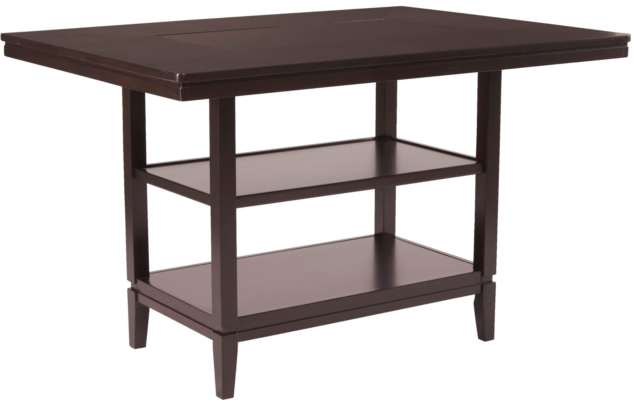 trishelle rectangular dining room counter table from ashley d550 32