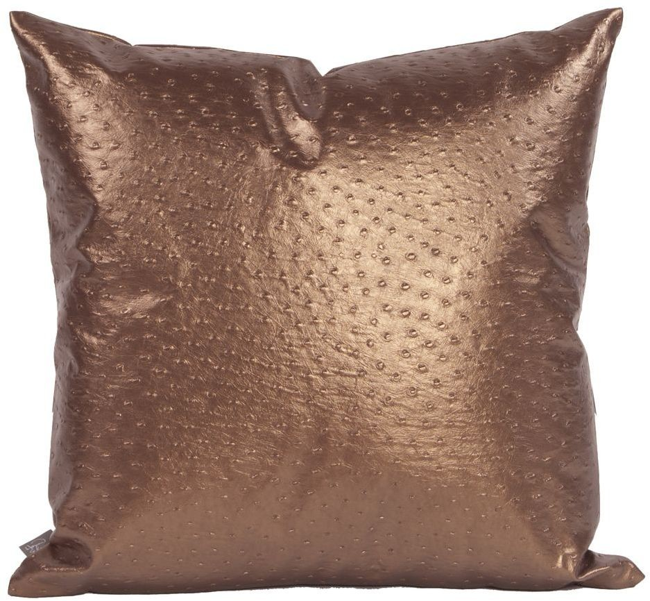 Ostrich Copper Large Pillow 2 263 Howard Elliot
