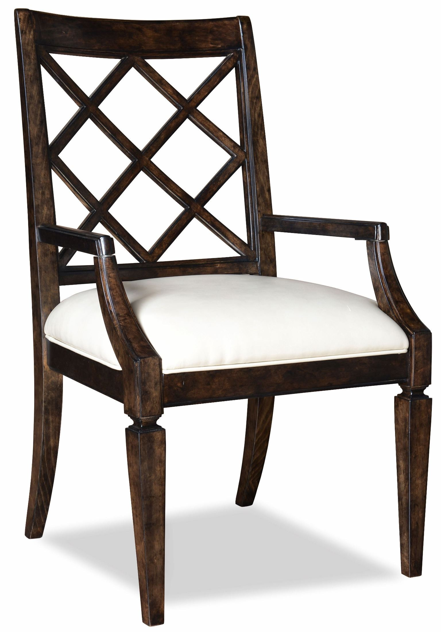 Classic Splat Back Arm Chair Set Of 2 From Art 202203