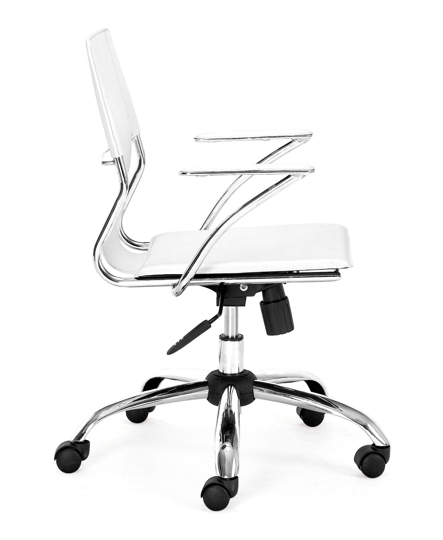 trafico office chair white from zuo mod 205182 coleman furniture. Black Bedroom Furniture Sets. Home Design Ideas
