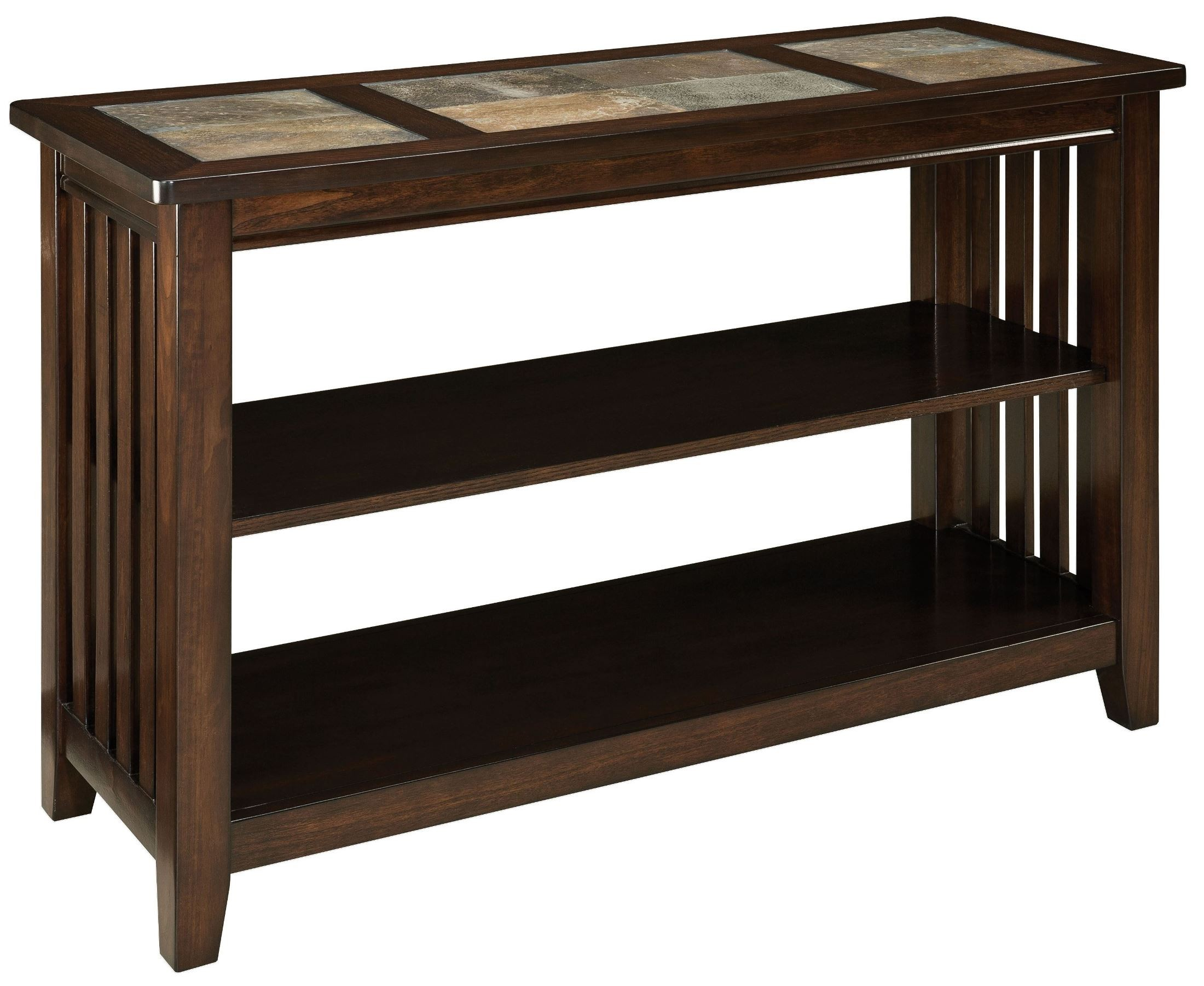 Napa Valley Brown Oak Console Table 20656 Standard Furniture