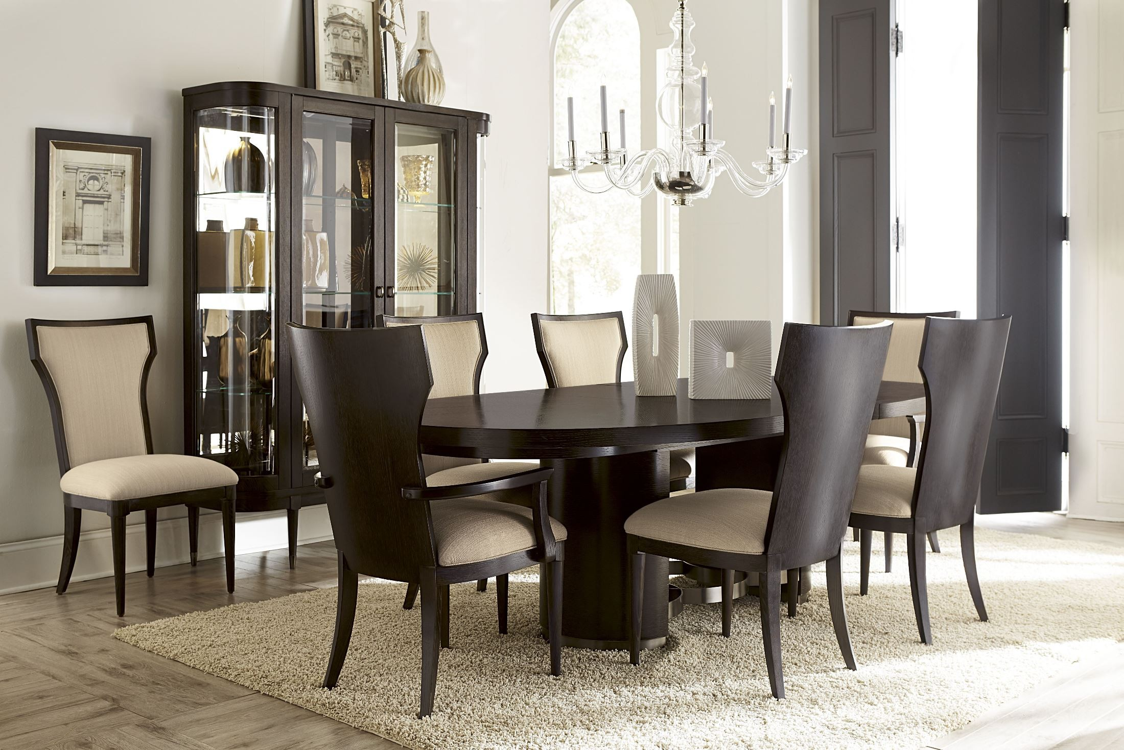 greenpoint oval dining room set from art 214223 2304 danimore oval dining room set casual dining sets