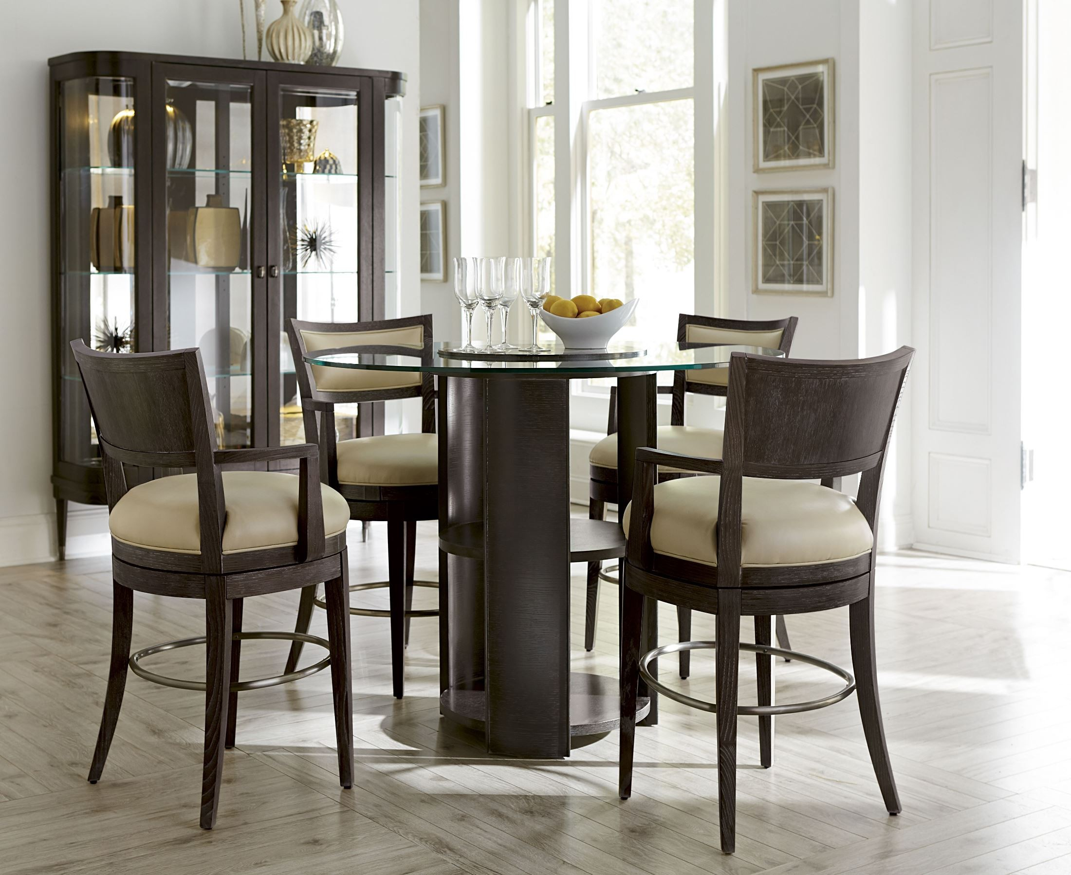 high dining room set from art 214230 2304 coleman furniture