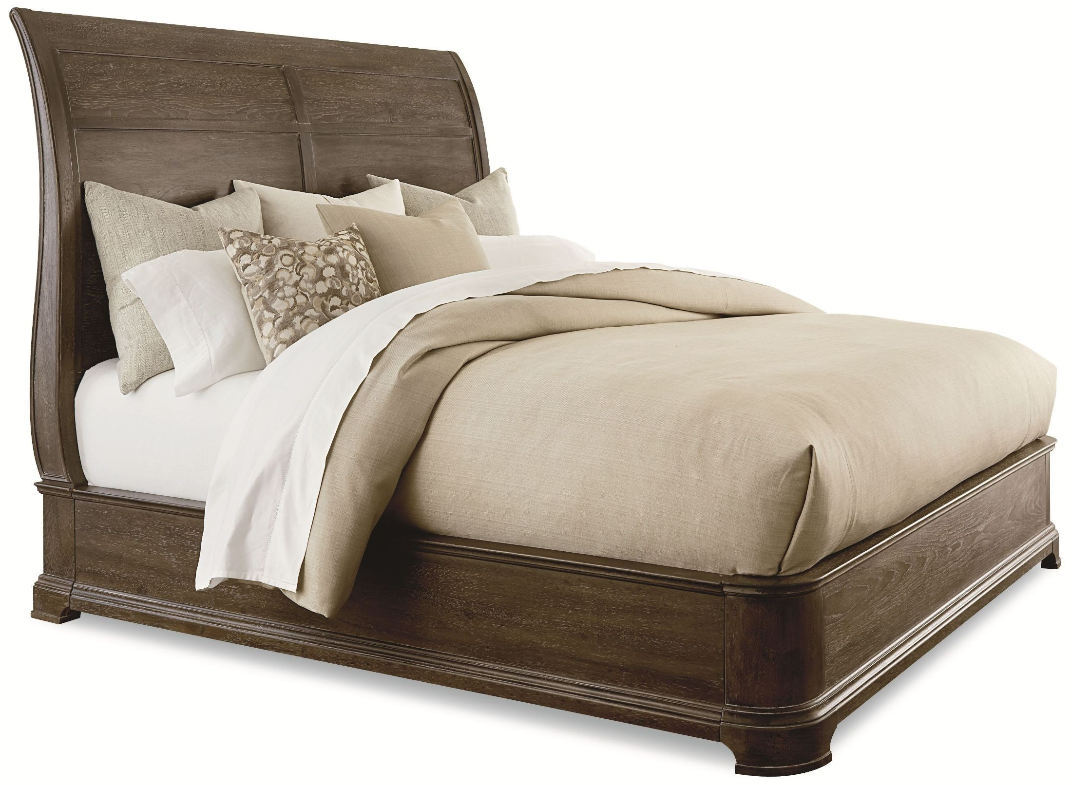St Germain Queen Platform Sleigh Bed From Art Coleman