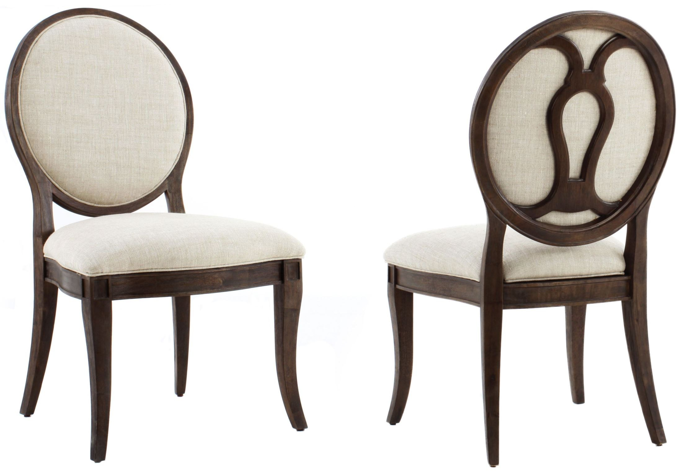 St Germain Oval Back Side Chair Set of 2 1513 A R T