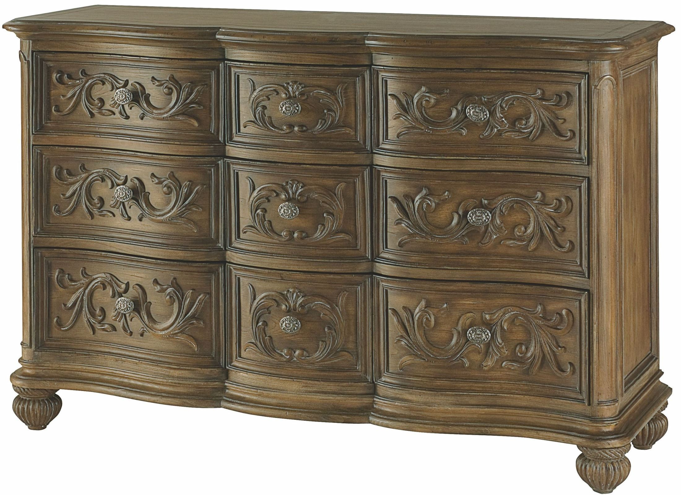 Jessica Mcclintock Boutique Baroque Sleigh Bedroom Set From American