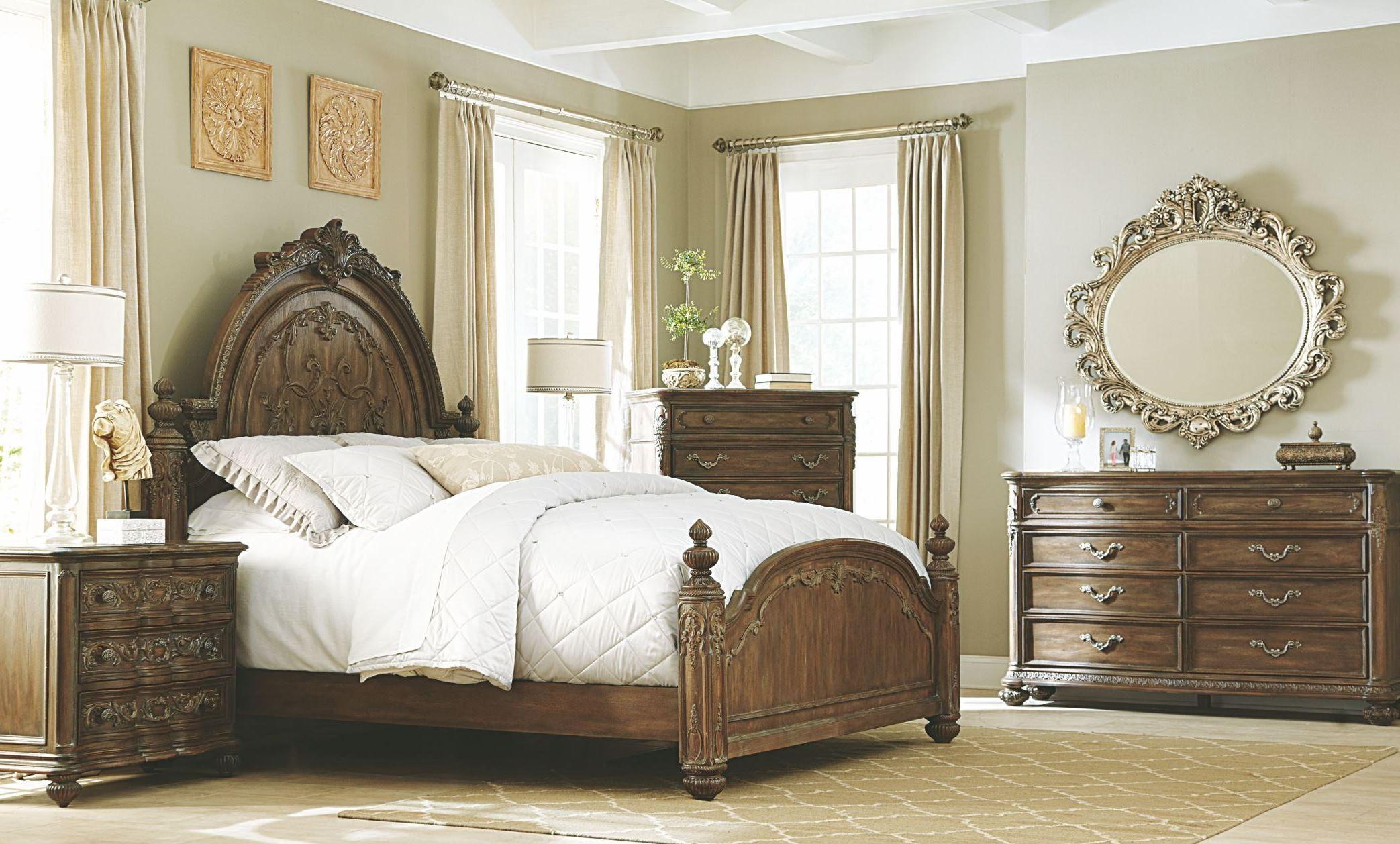 Jessica mcclintock boutique baroque mansion bedroom set for Baroque bedroom furniture