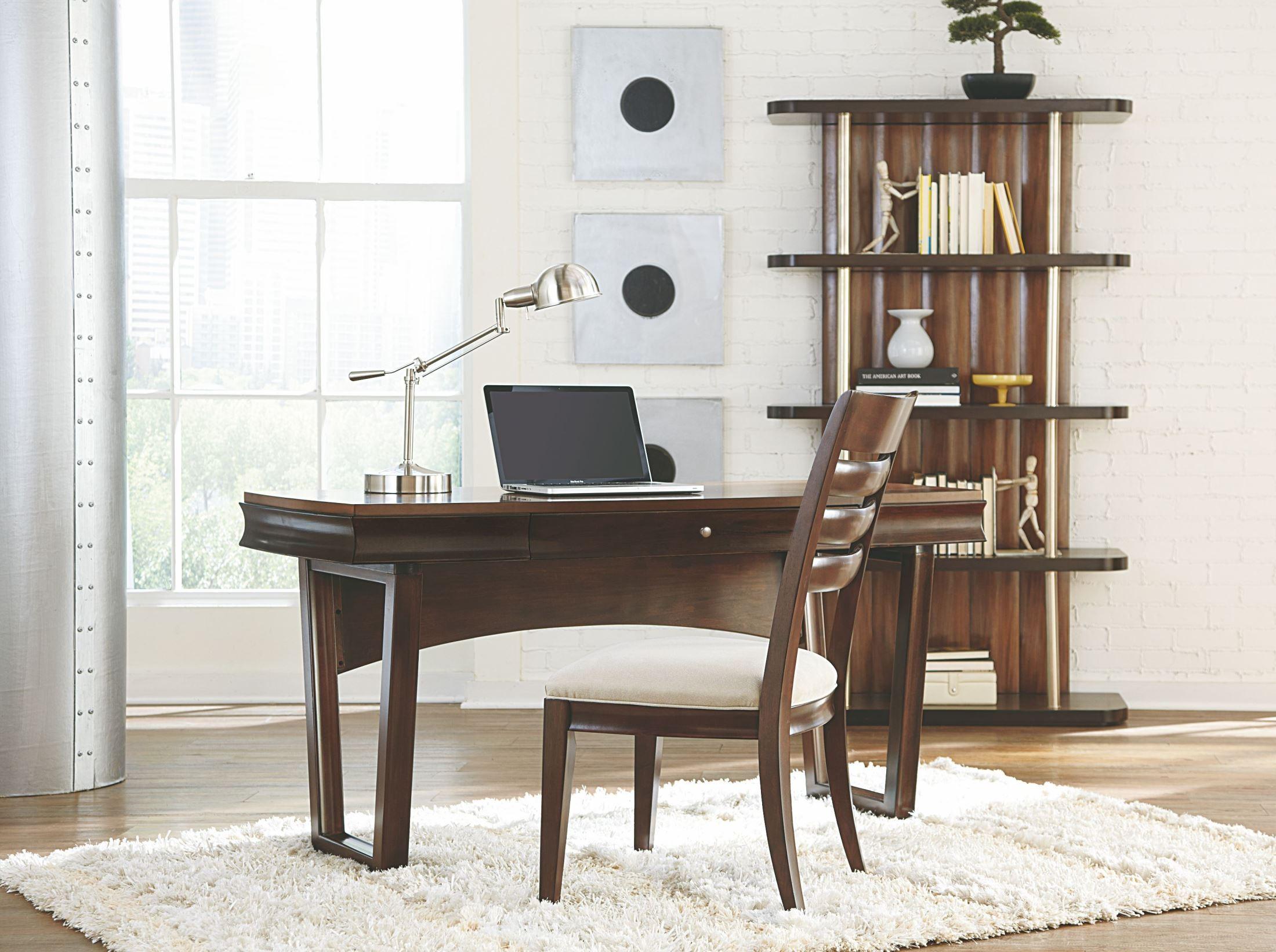 Miramar Smoky Brown Home Office Set