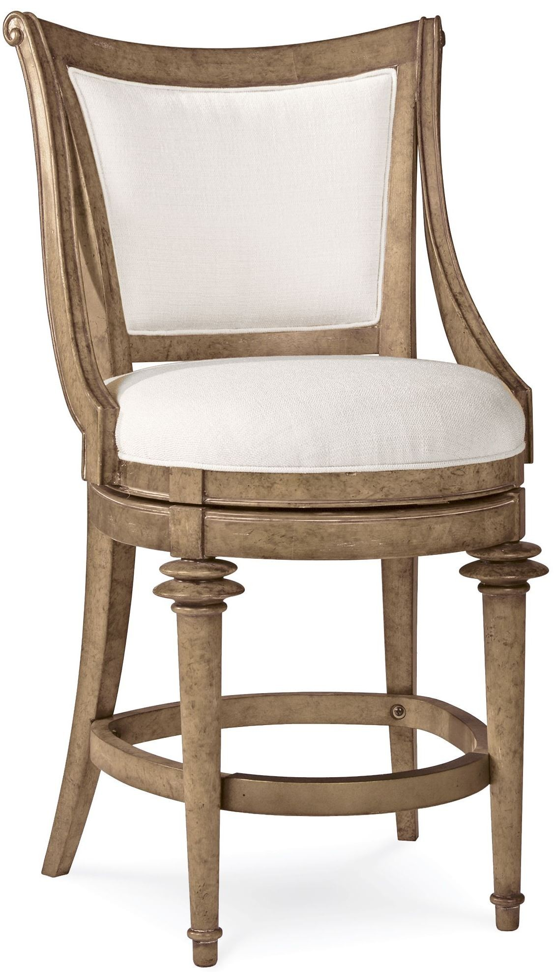 Pavilion Upholstered Back High Dining Chair From Art