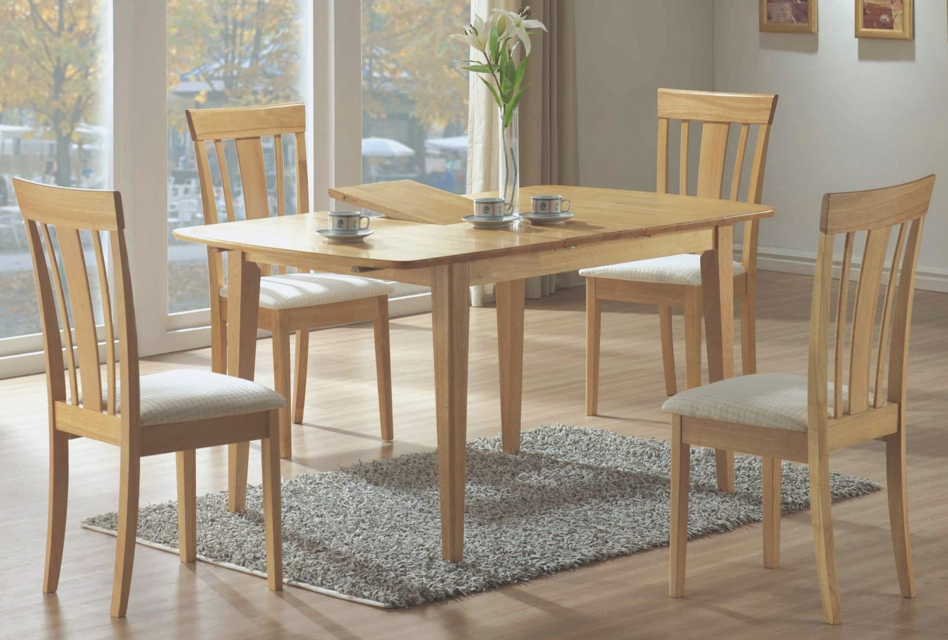 4267 maple butterfly leaf dining dining room set from for Dining room leaf
