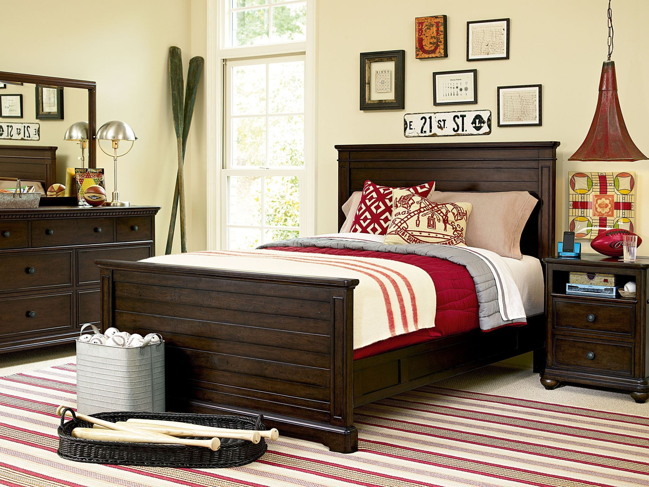 Paula deen guys smartstuff panel bedroom set from smart for Paula deen bedroom furniture