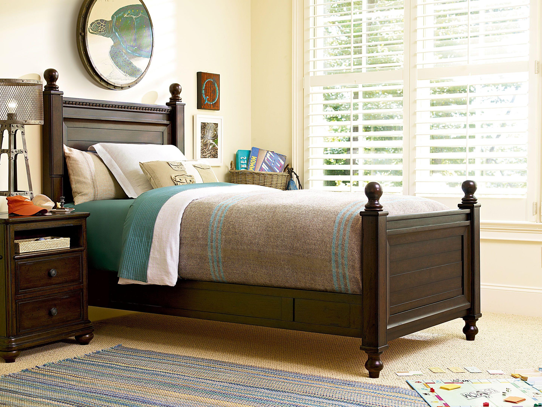 Low Post Bedroom Set From Smart Stuff 2391037 Coleman Furniture