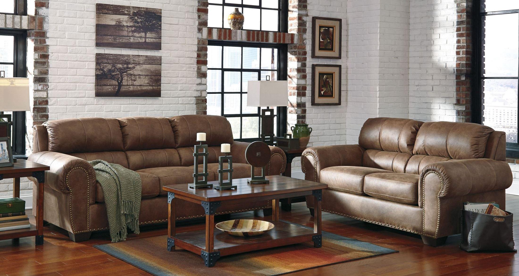 Burnsville Espresso Living Room Set From Ashley 9720638 Coleman Furniture