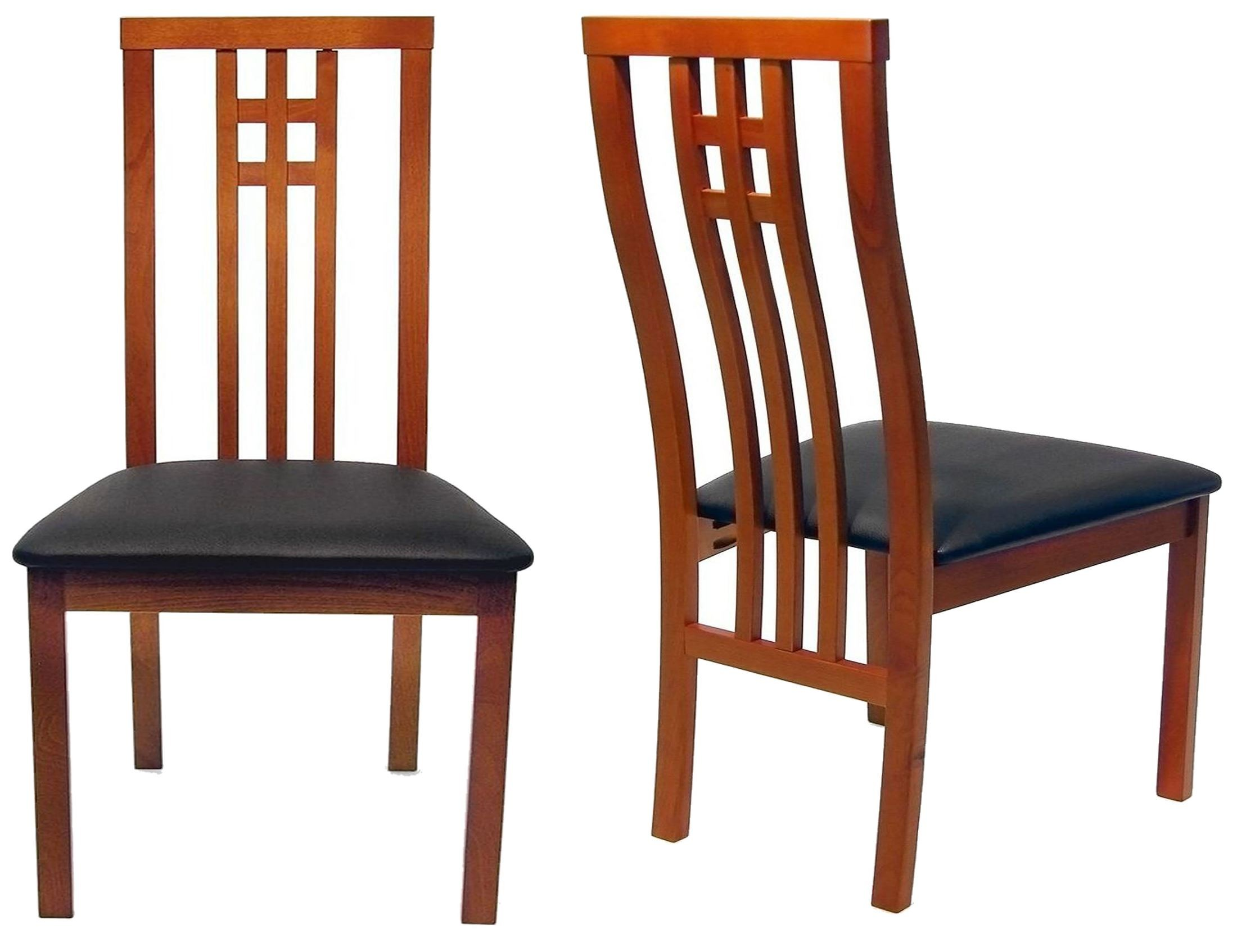 Beechwood district cherry dining chair set of 2 from aeon for District 8 furniture