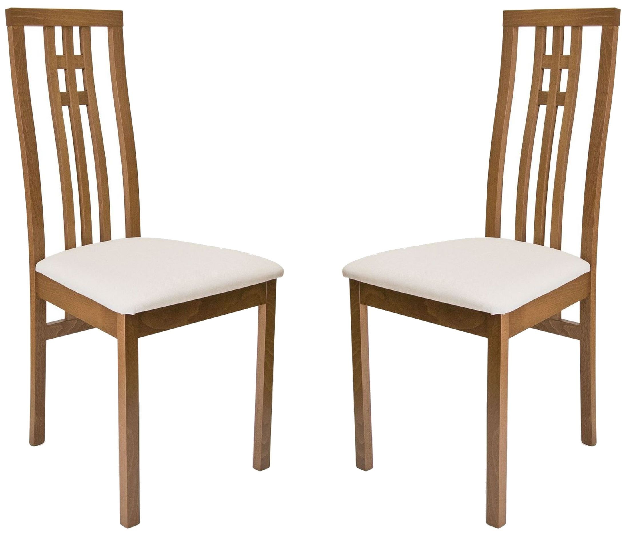Beechwood district walnut dining chair set of 2 from aeon for District 8 furniture