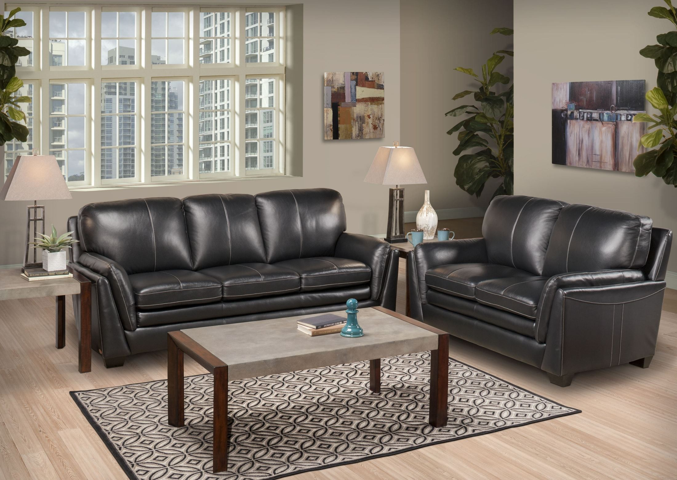 living room furniture living room sets gianni gray living room set