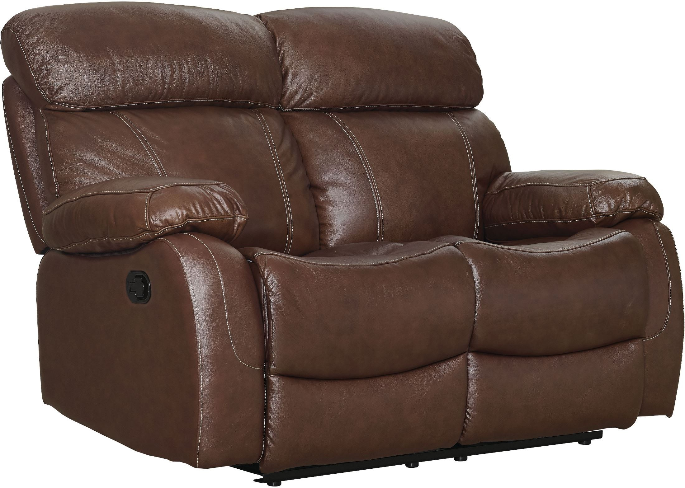 Dante Light Brown Reclining Loveseat L2041 20 Lbn New Classics