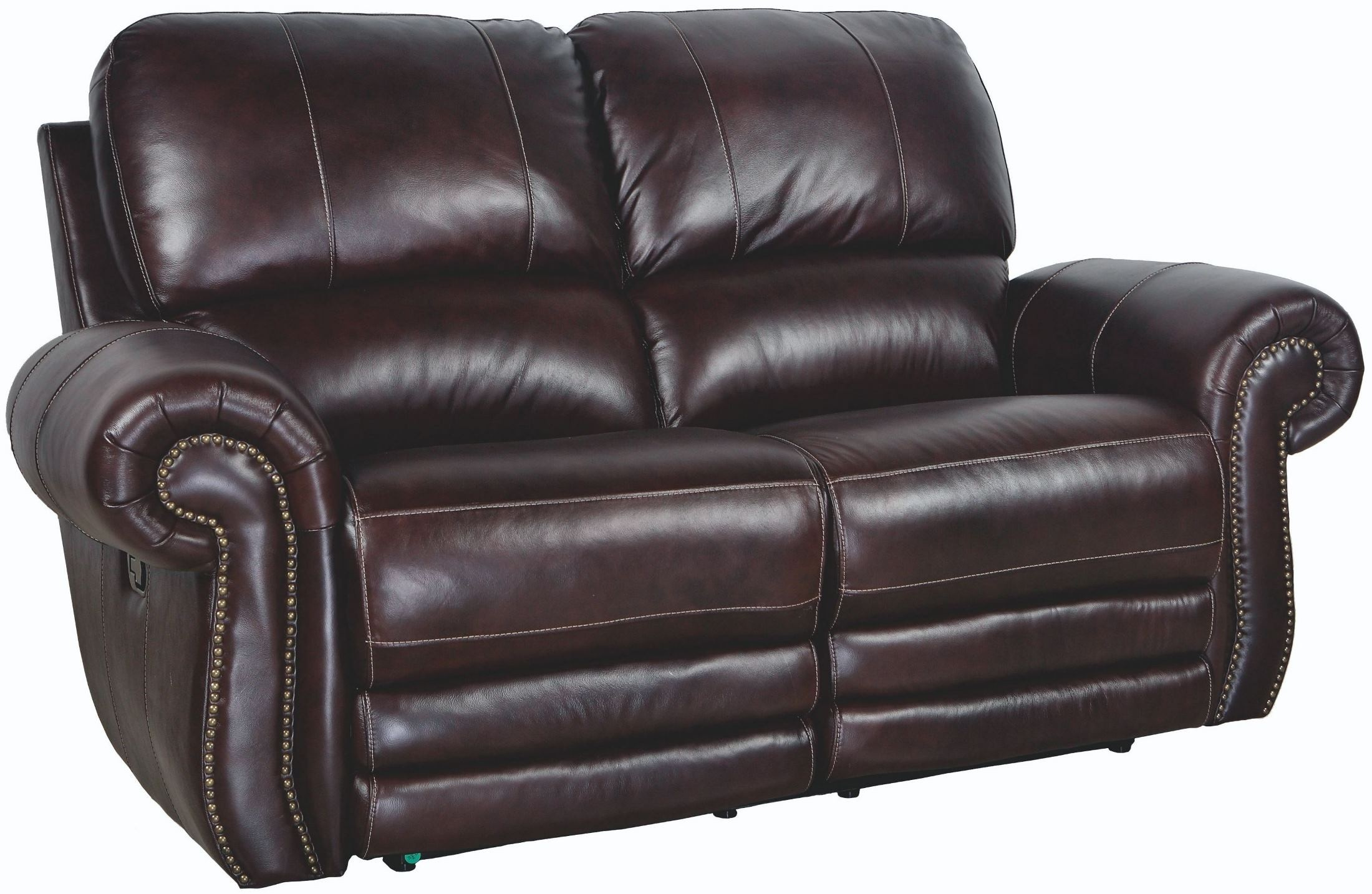 Rossi Dark Brown Power Reclining Loveseat L2652 20p Bbn New Classics