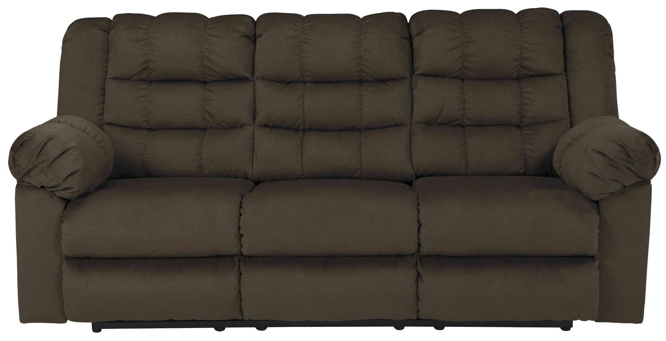 Mort Umber Reclining Sofa 2610488 Ashley
