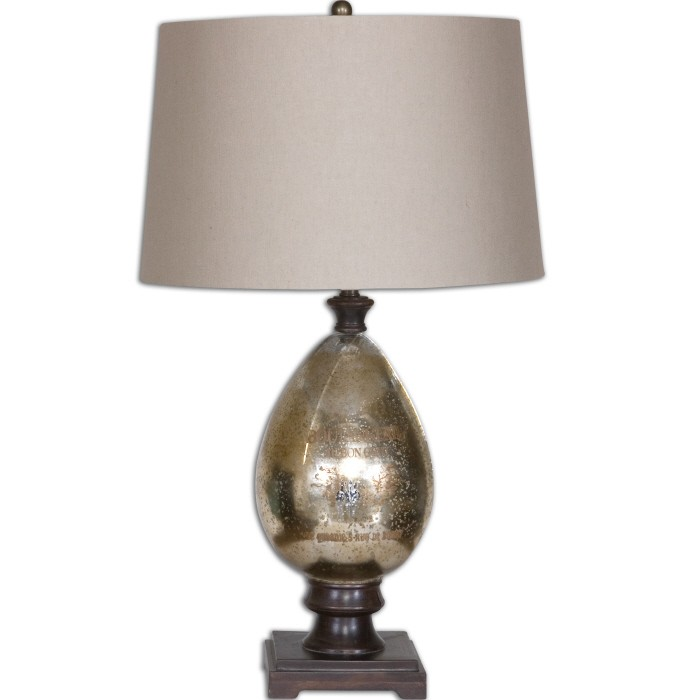 Boulangerie Mercury Glass Lamp From Uttermost 26206 Coleman Furniture