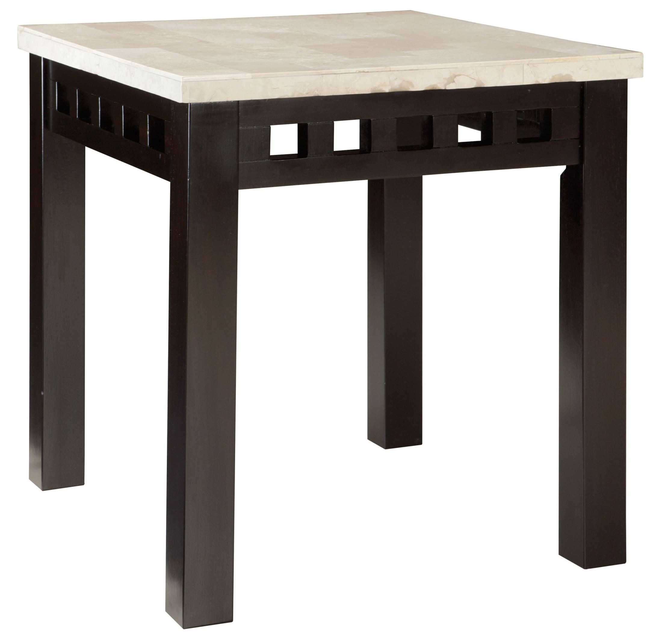 Gateway Off White End Table 26812 Standard Furniture