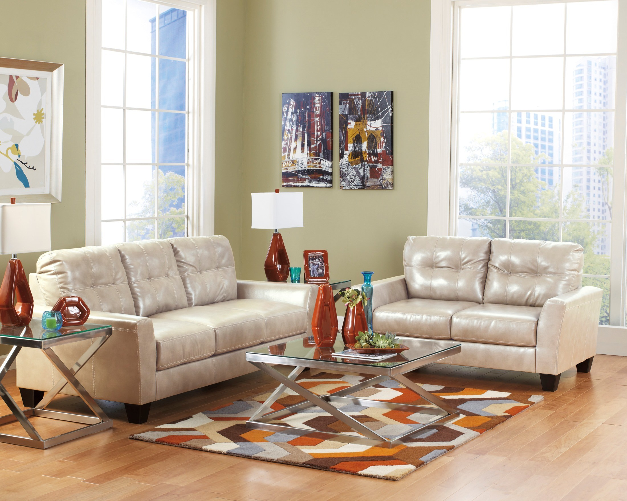 Paulie DuraBlend Taupe Living Room Set From Ashley 27000 38 35 Coleman Fu
