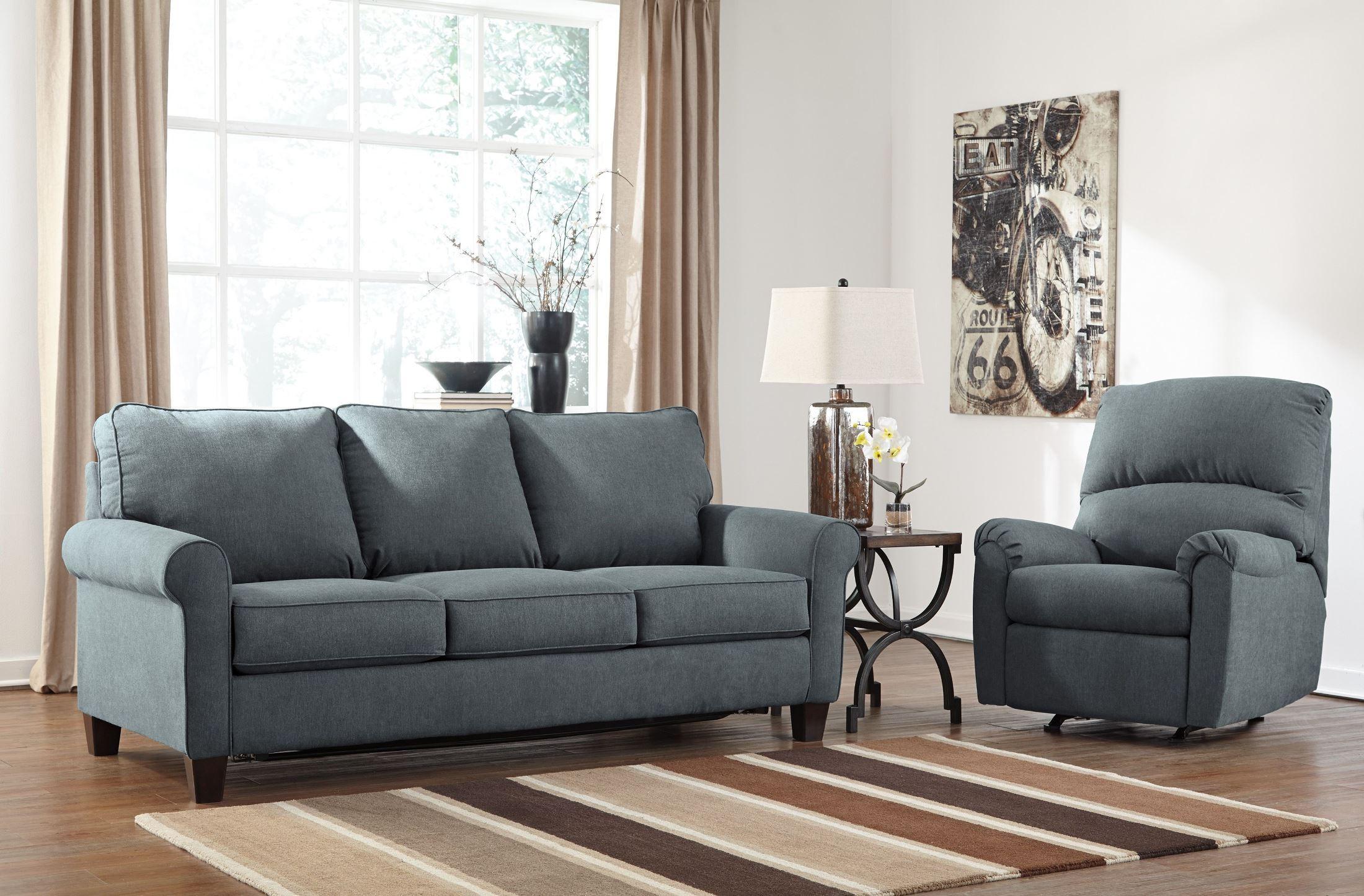denim living room set from ashley 2710137 25 coleman furniture