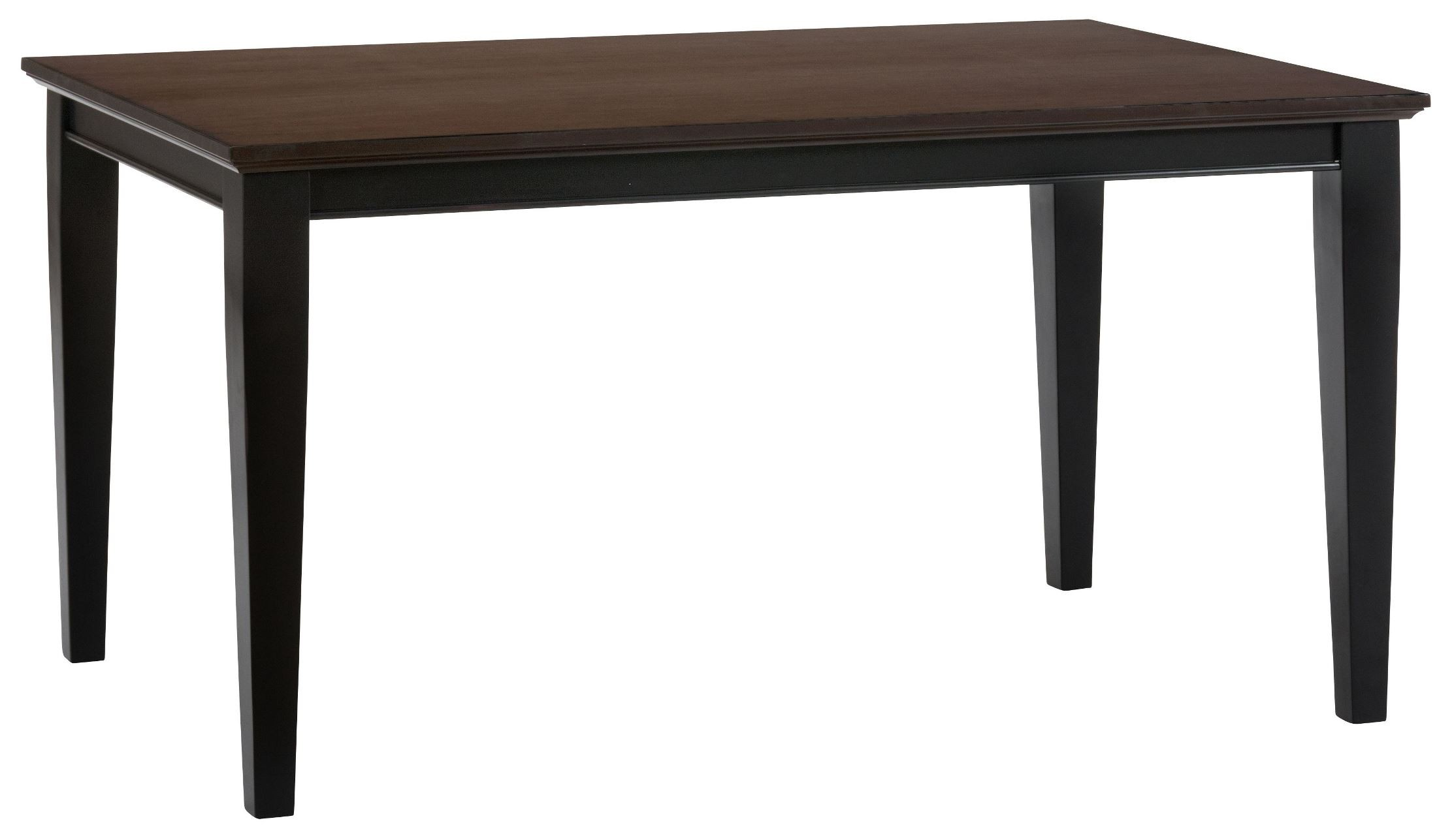 Antique Black Dining Table Jofran Antique Black Brown