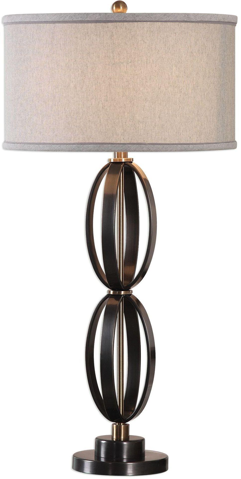 moretti oil rubbed bronze table lamp 27317 1 uttermost. Black Bedroom Furniture Sets. Home Design Ideas