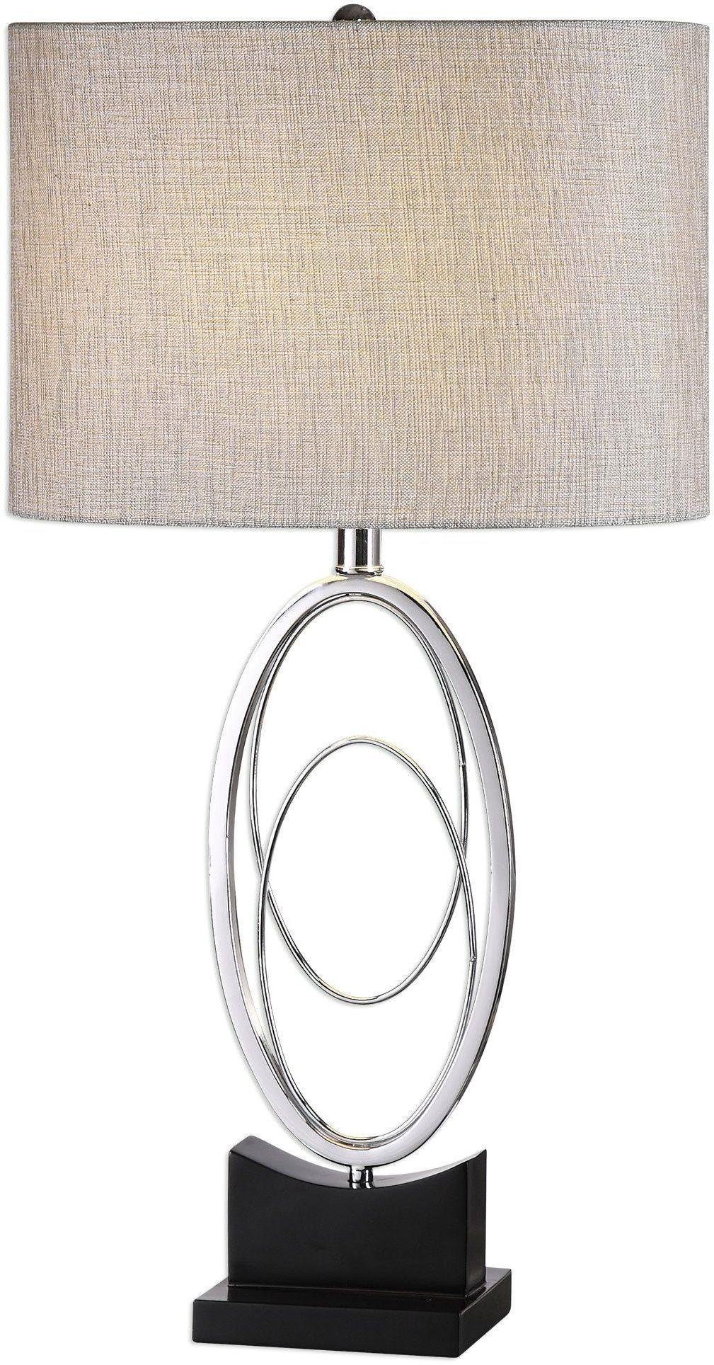 Savant Polished Nickel Table Lamp 27532 1 Uttermost