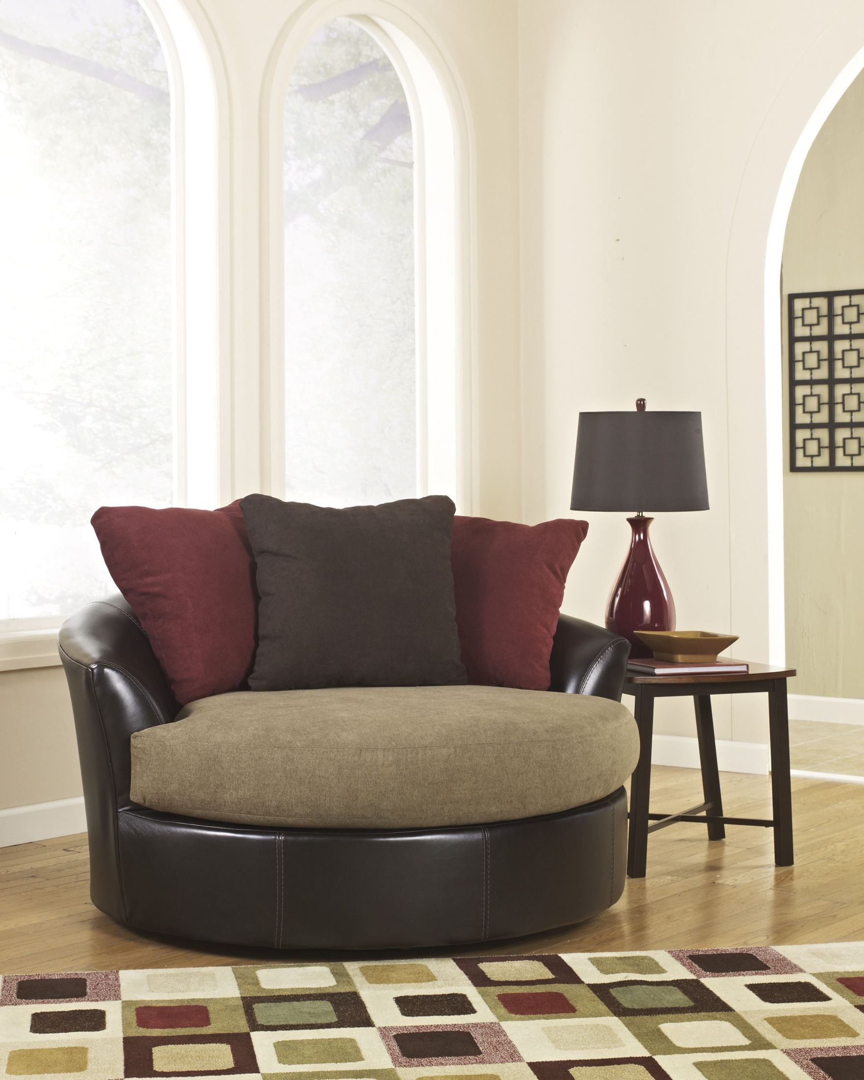 swivel accent chairs for living room. oversized accent chairs sanya mocha swivel chair 2840021  28 images emelen fabric