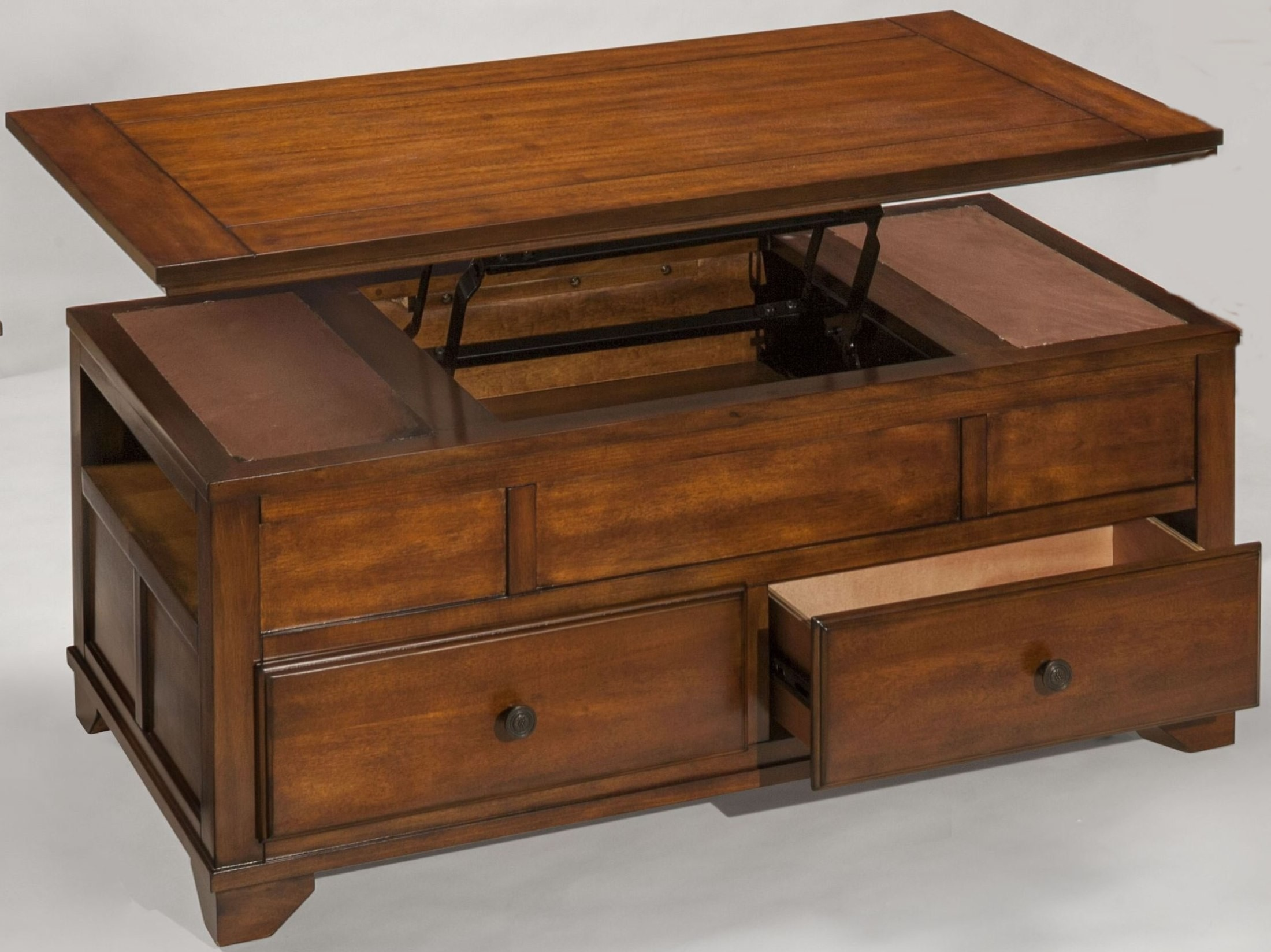 lynch cherry lift top cocktail table t9905 15 new classics. Black Bedroom Furniture Sets. Home Design Ideas