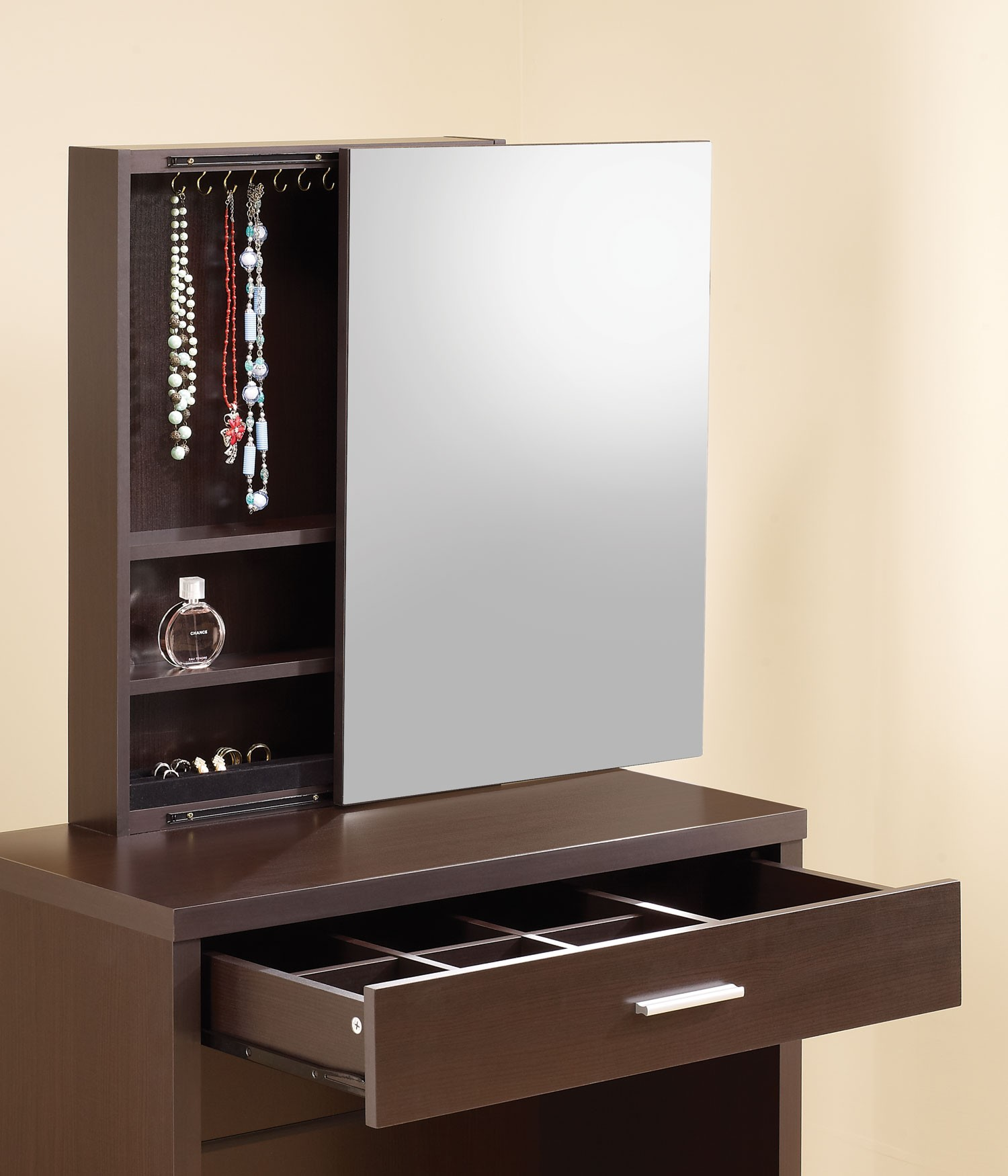 Cappuccino 2 Piece Vanity Set from Coaster