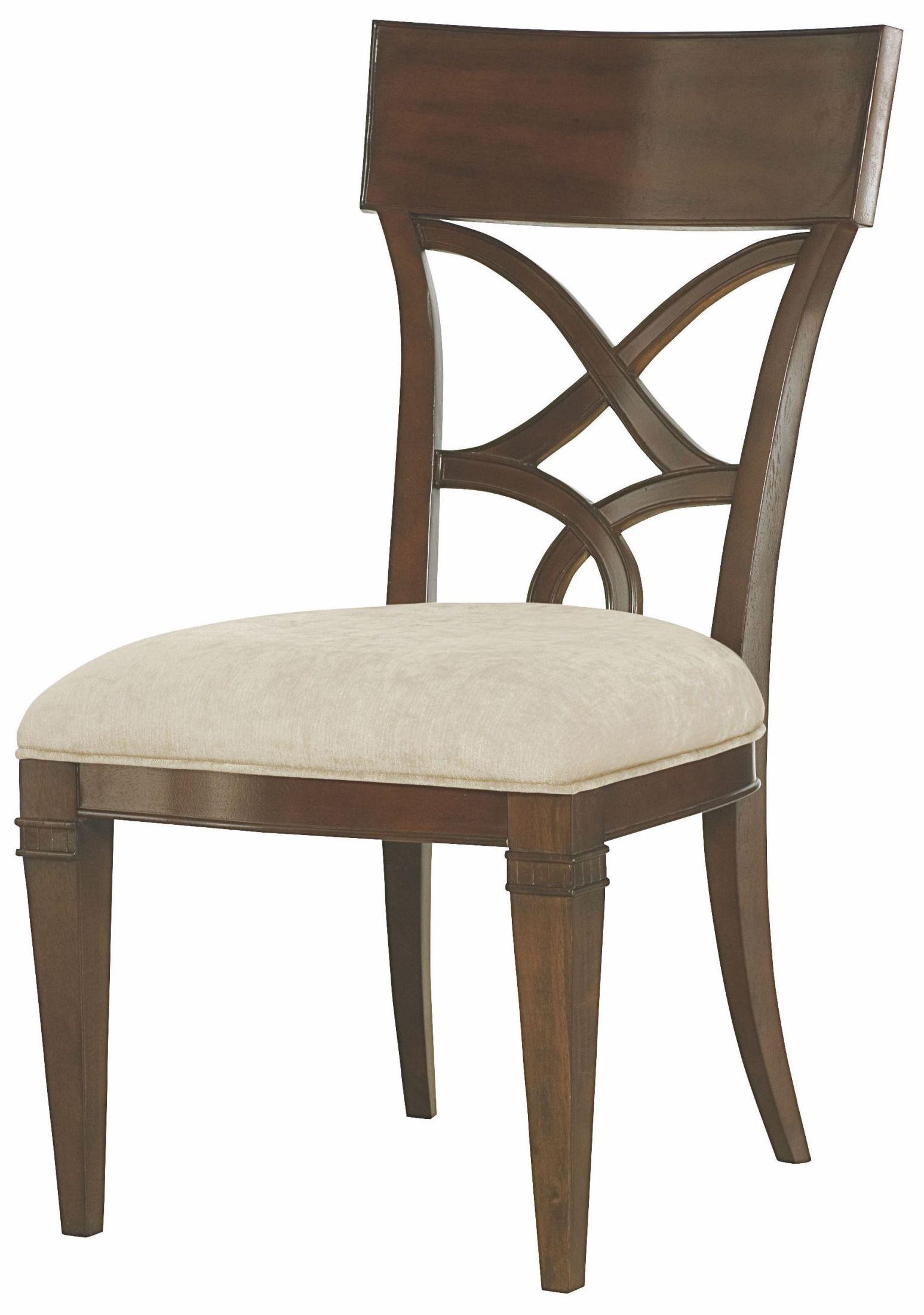 Bob Mackie Home Mink Splat Back Side Chair 308 636 American Drew